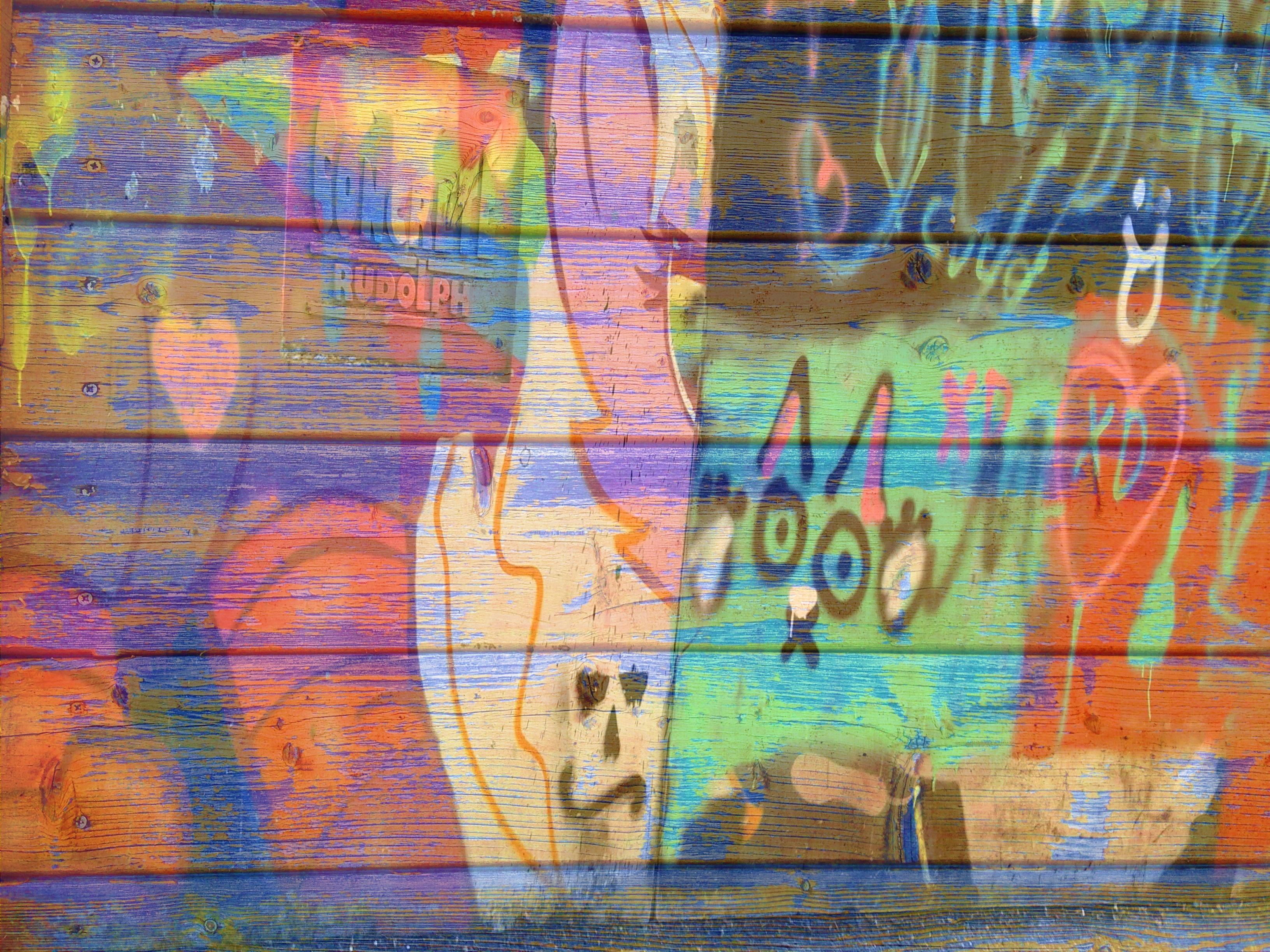 Images Gratuites Mur Modèle Couleur Coloré Graffiti La