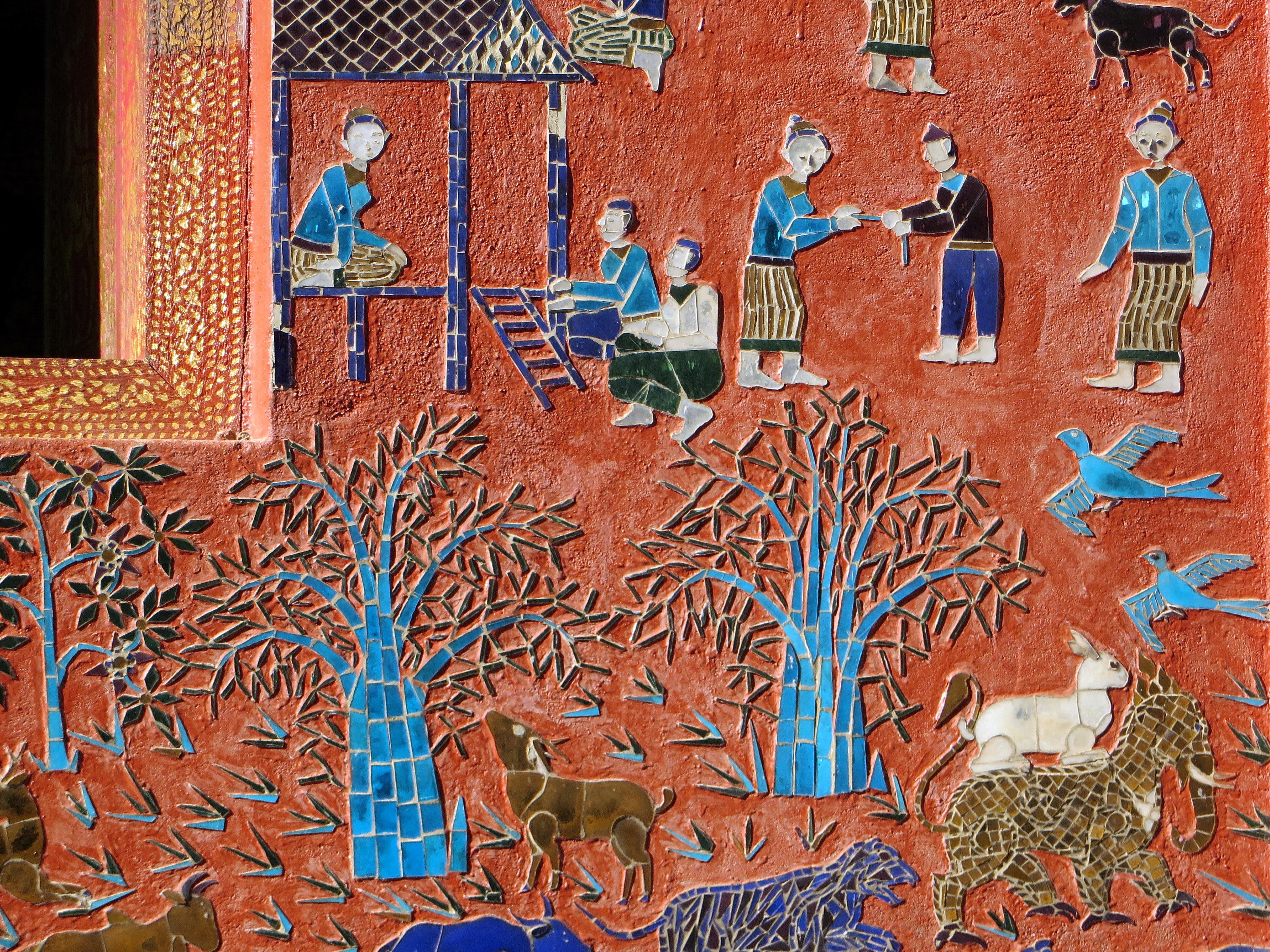 무료 이미지 : 무늬, 낙서, 그림, 디자인, 신전, 모자이크, 벽화 ...