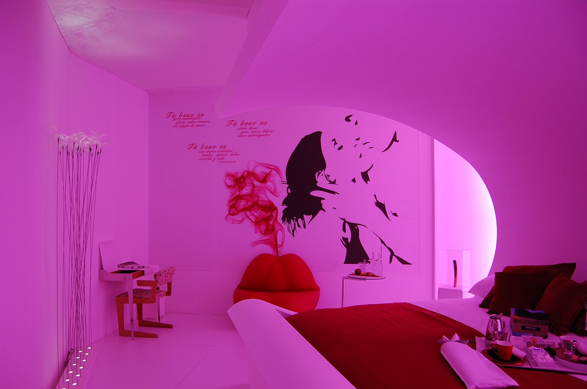 Fotos gratis pared relajarse color habitaci n rosado for Diseno de interiores habitacion