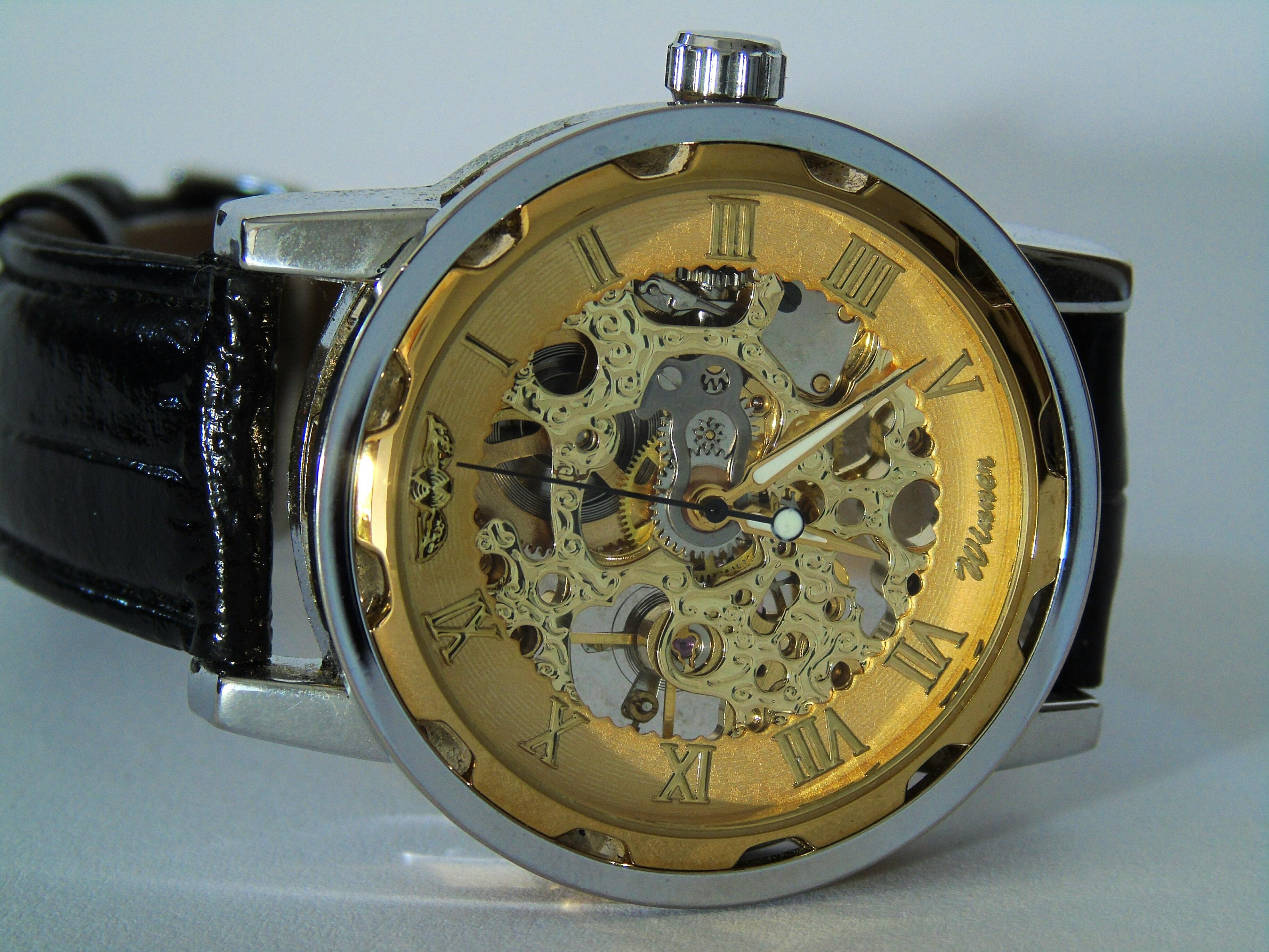Free Images : hand, macro, close, timepiece, analog clock