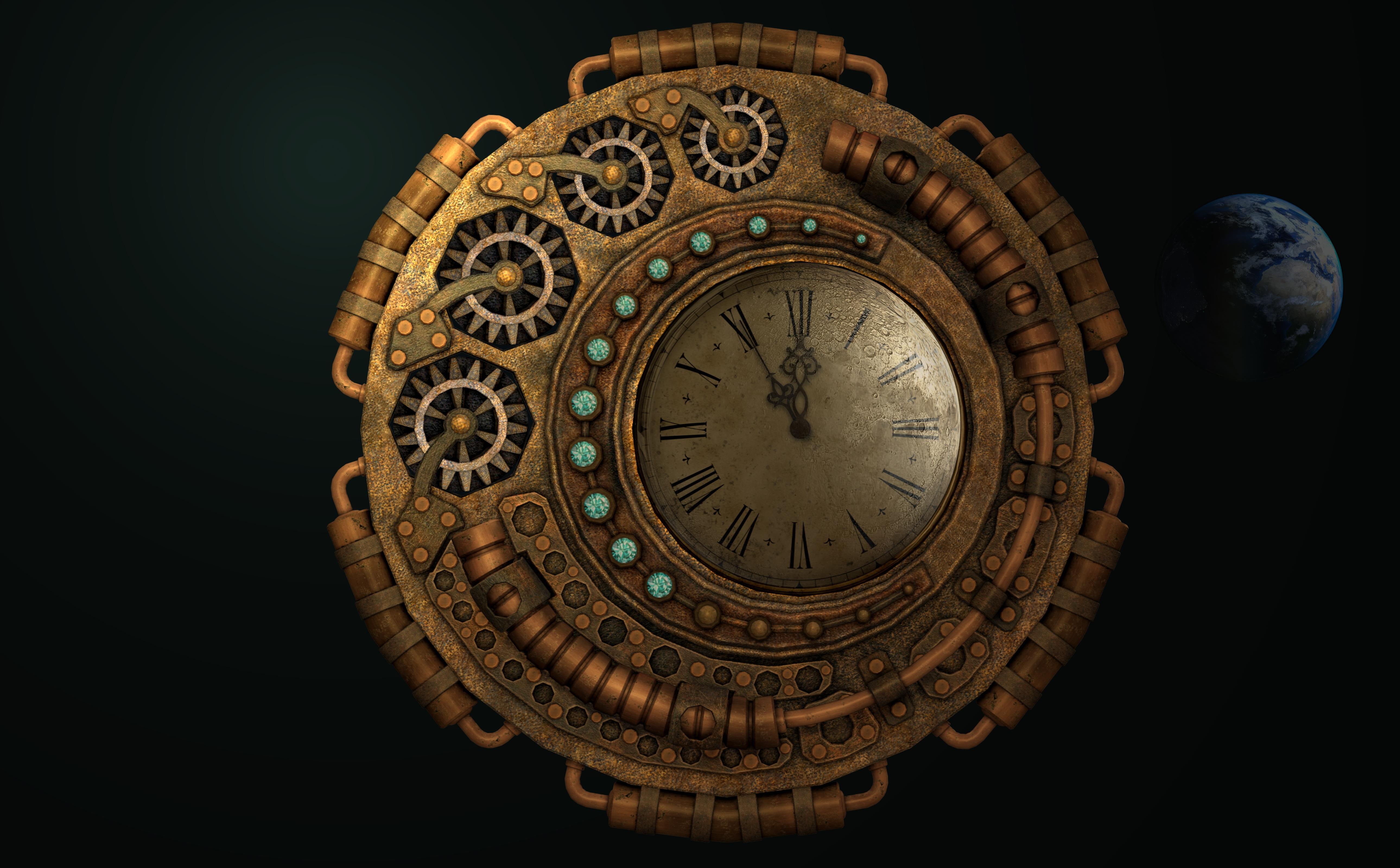 gratis afbeeldingen kijk maar, beweging, volle maan, uurwerkkijk maar tijd beweging volle maan uurwerk maanlicht cirkel verweerde versnellingen verleden roestvrij uur vooruit wijzer