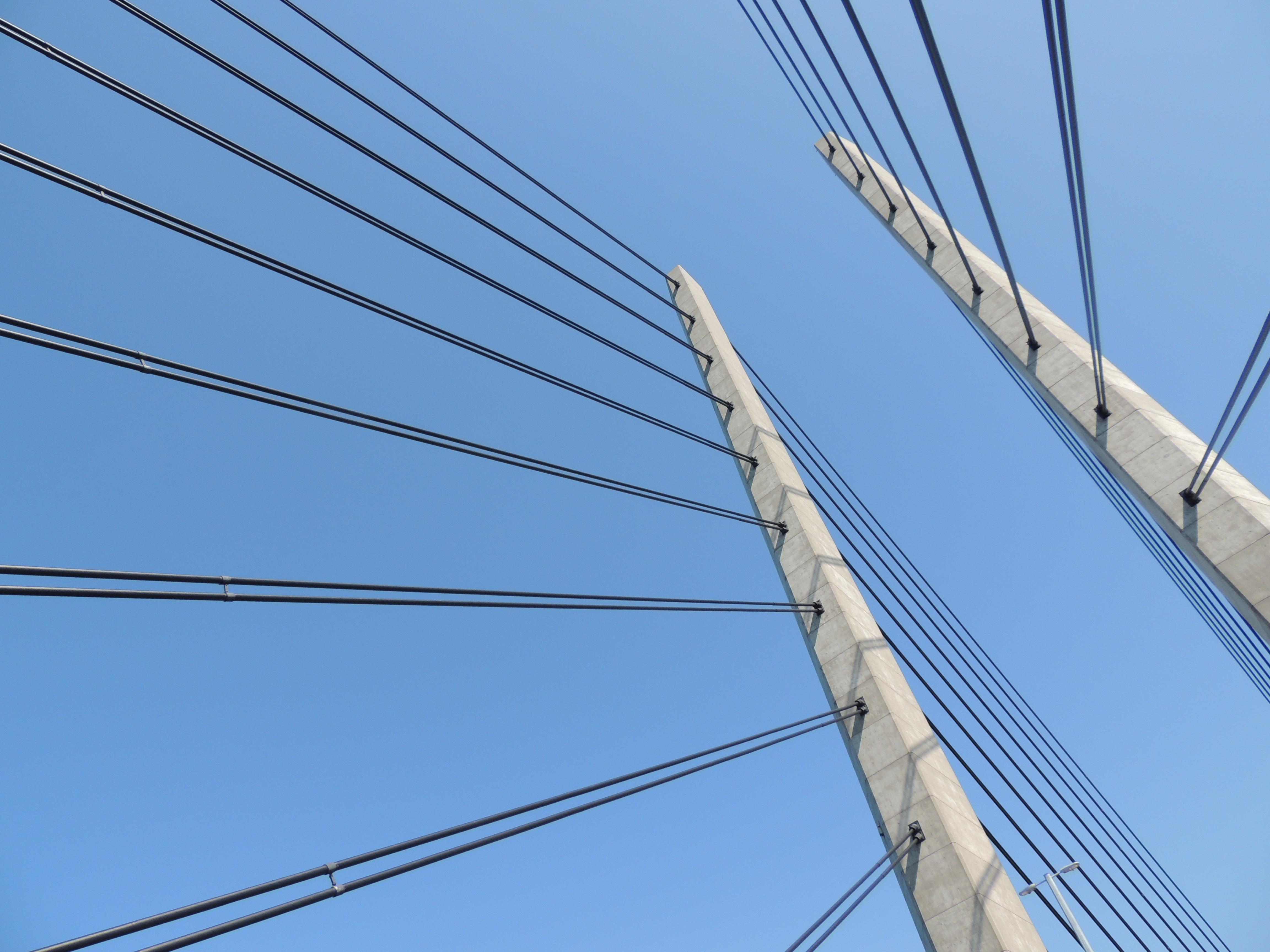 Stehlen Modern kostenlose foto wasser die architektur himmel brücke gebäude