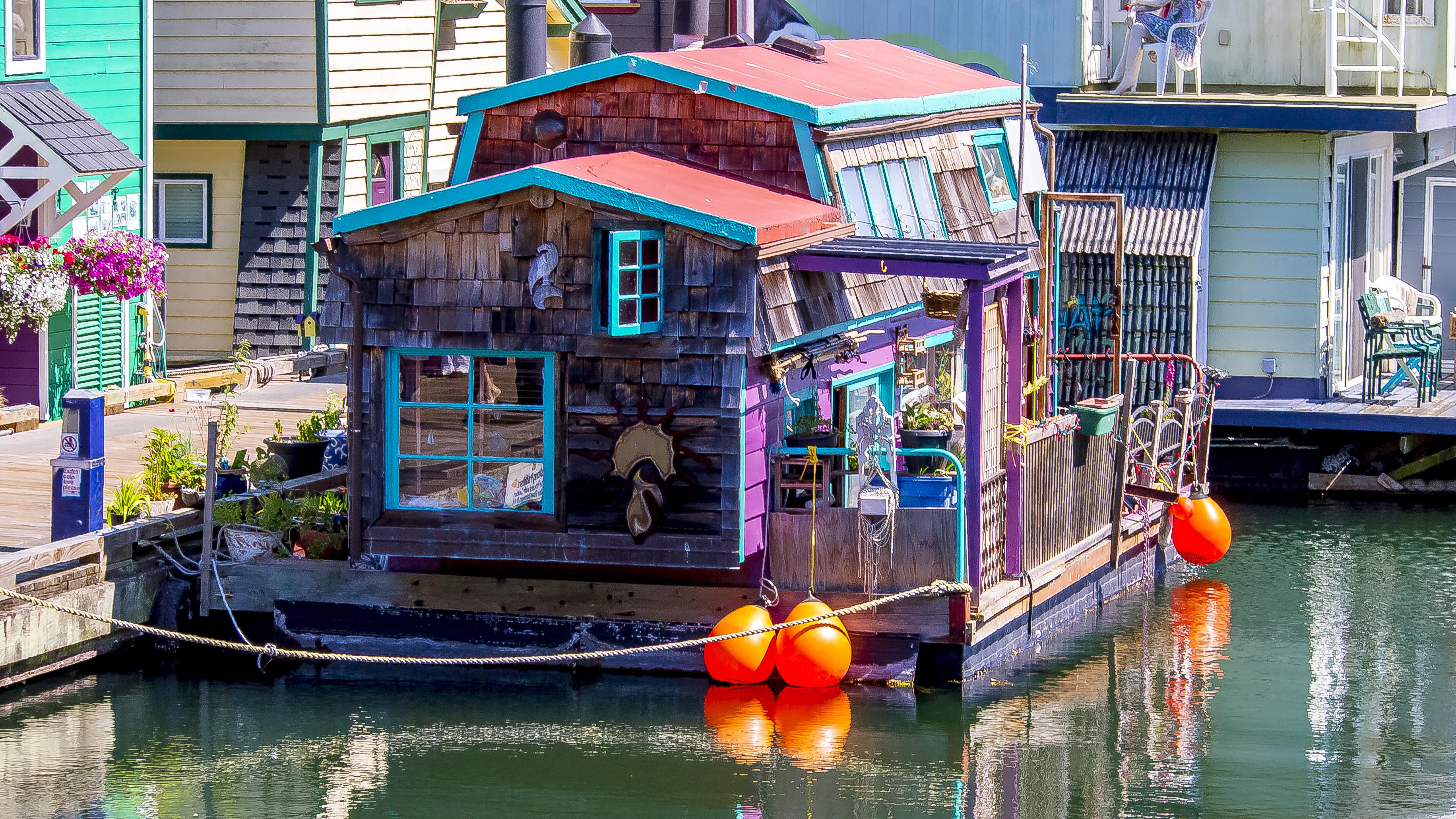 Kostenlose foto : Wasser, Boot, Haus, Seebrücke, Kanal, Ferien ...