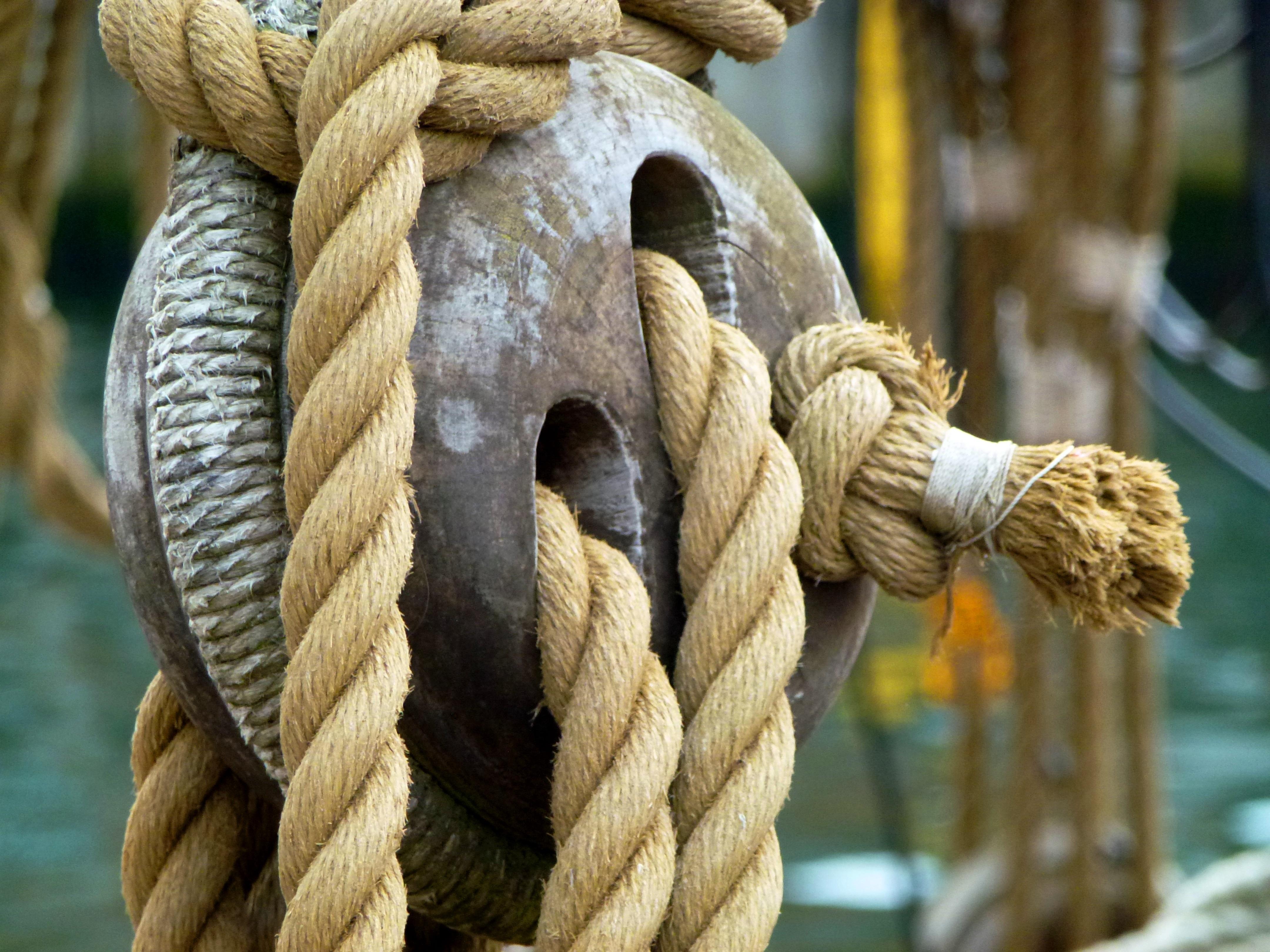 Фото морского узла