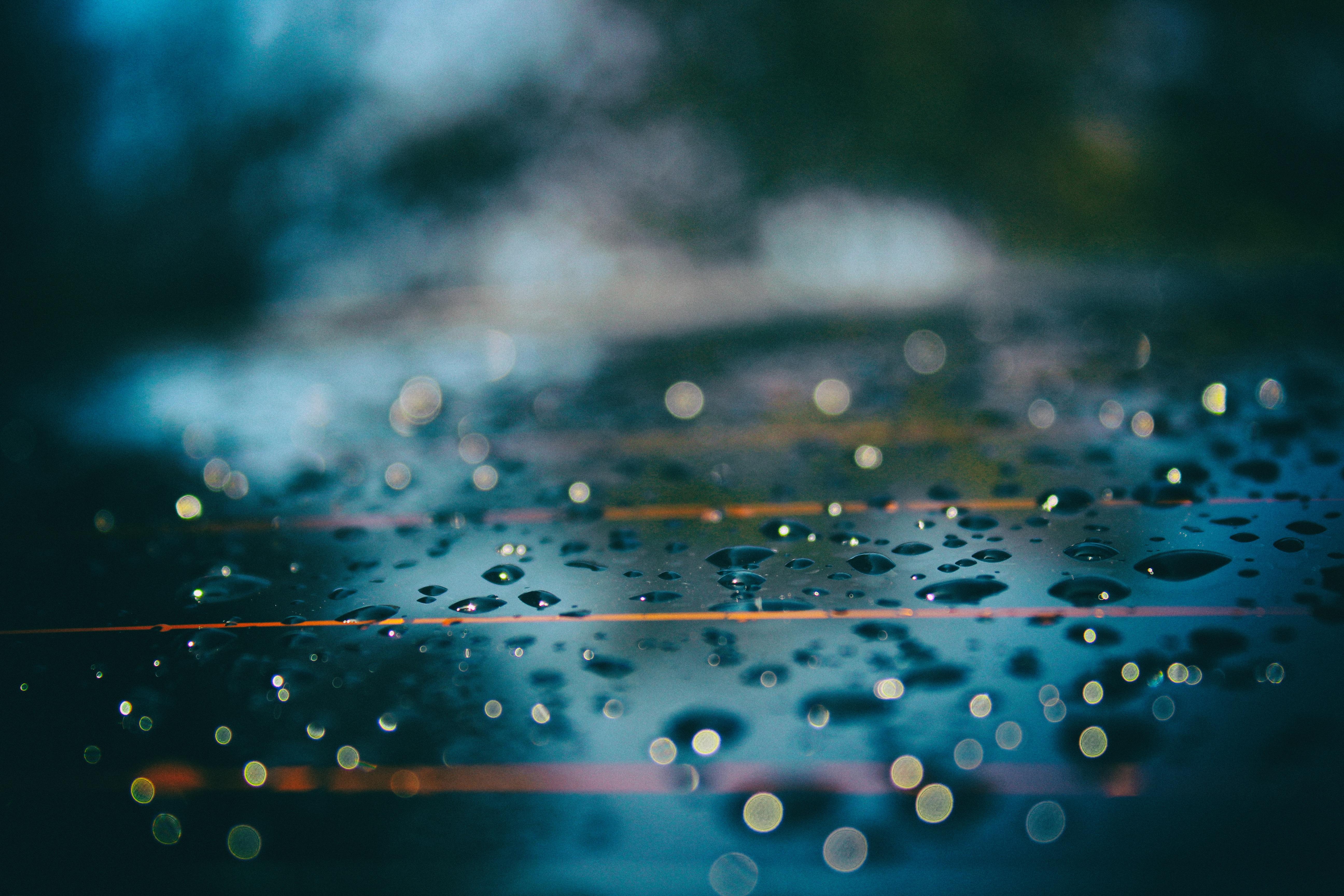 Gambar Air Penurunan Embun Langit Sinar Matahari Hujan