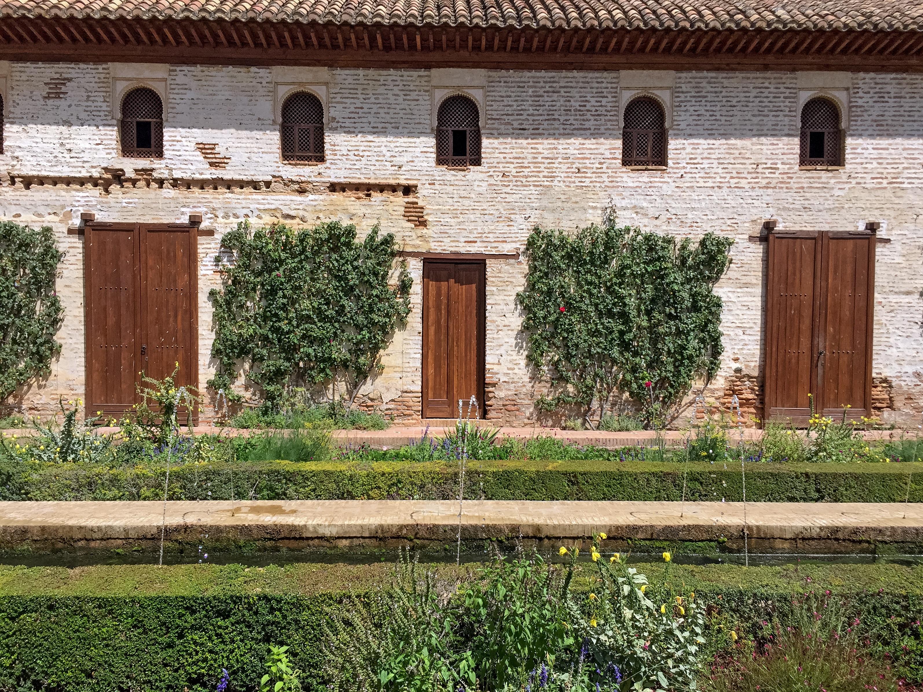 Gambar Air Pagar Rumah Bangunan Lumbung Dinding Gudang