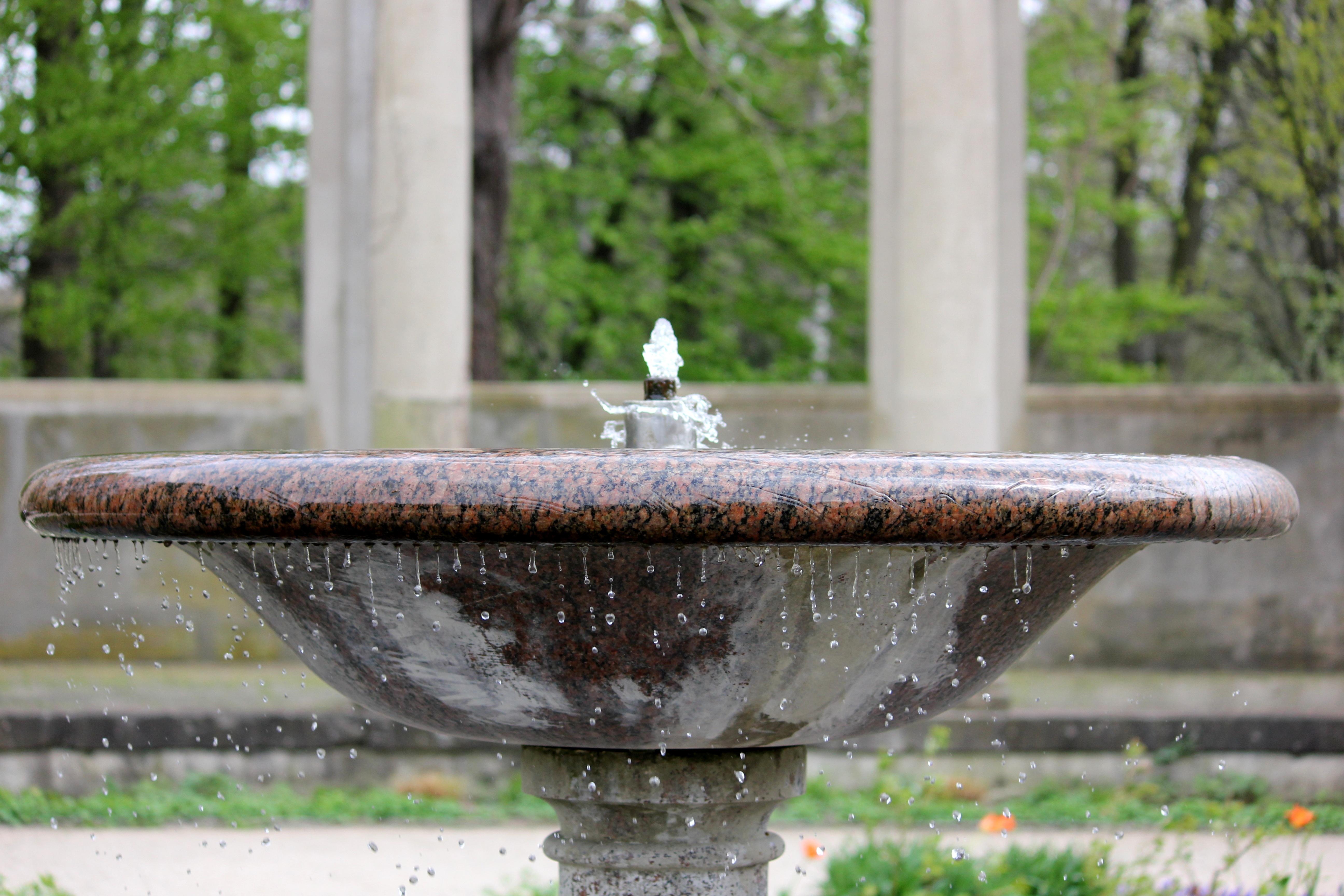 Water Flower Backyard Sink Garden Water Fountain Bubble Fountain Water  Feature Decorative Fountains Well Water