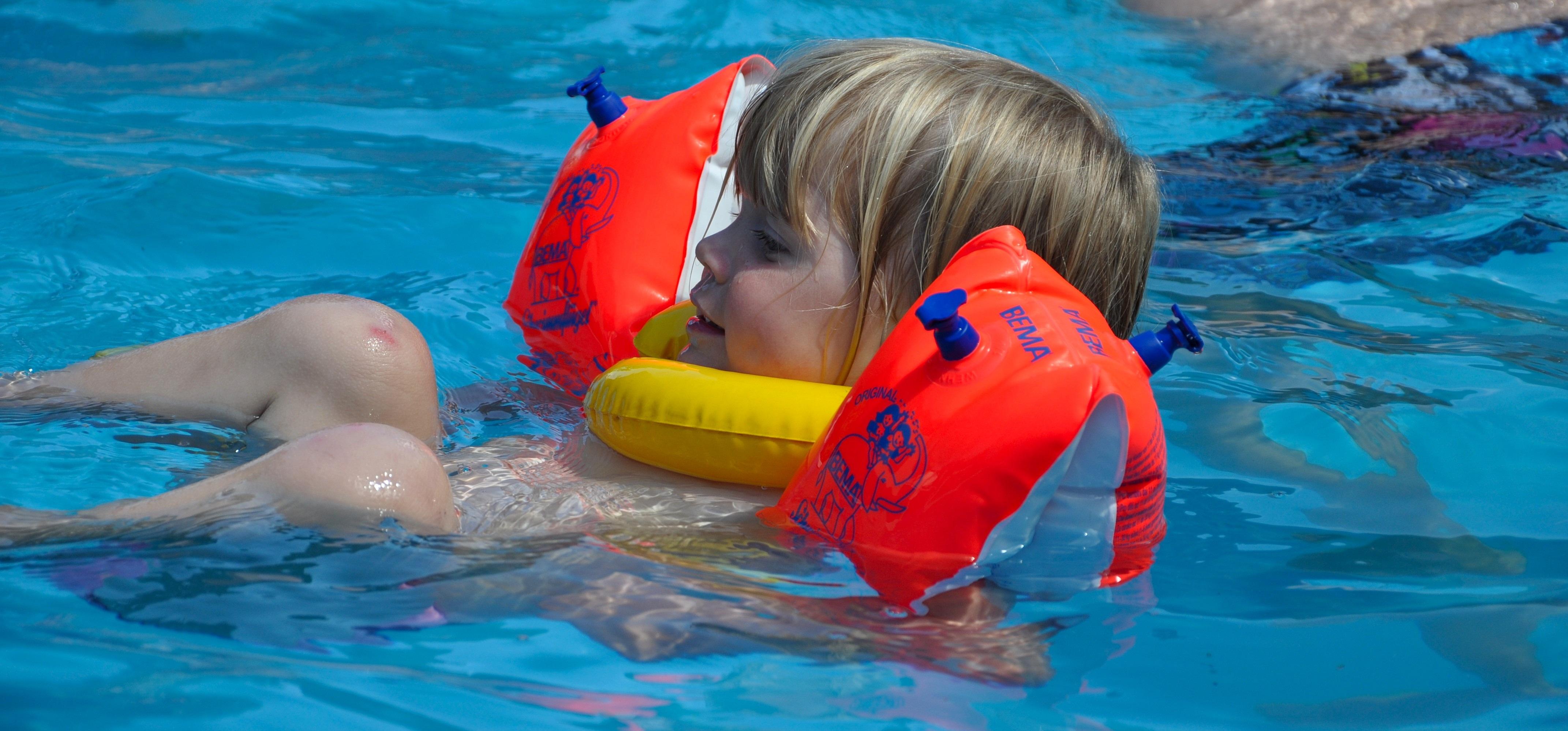 Swimming Pool Wings : Free images girl play swim swimming pool child