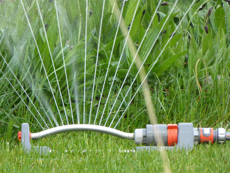 hose hook up on lawn mower