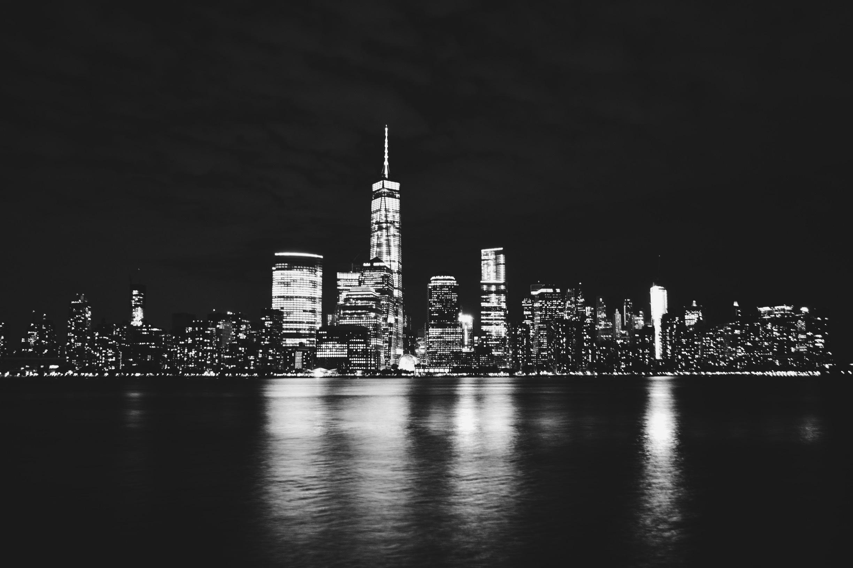 Fotos gratis : agua, horizonte, en blanco y negro ...