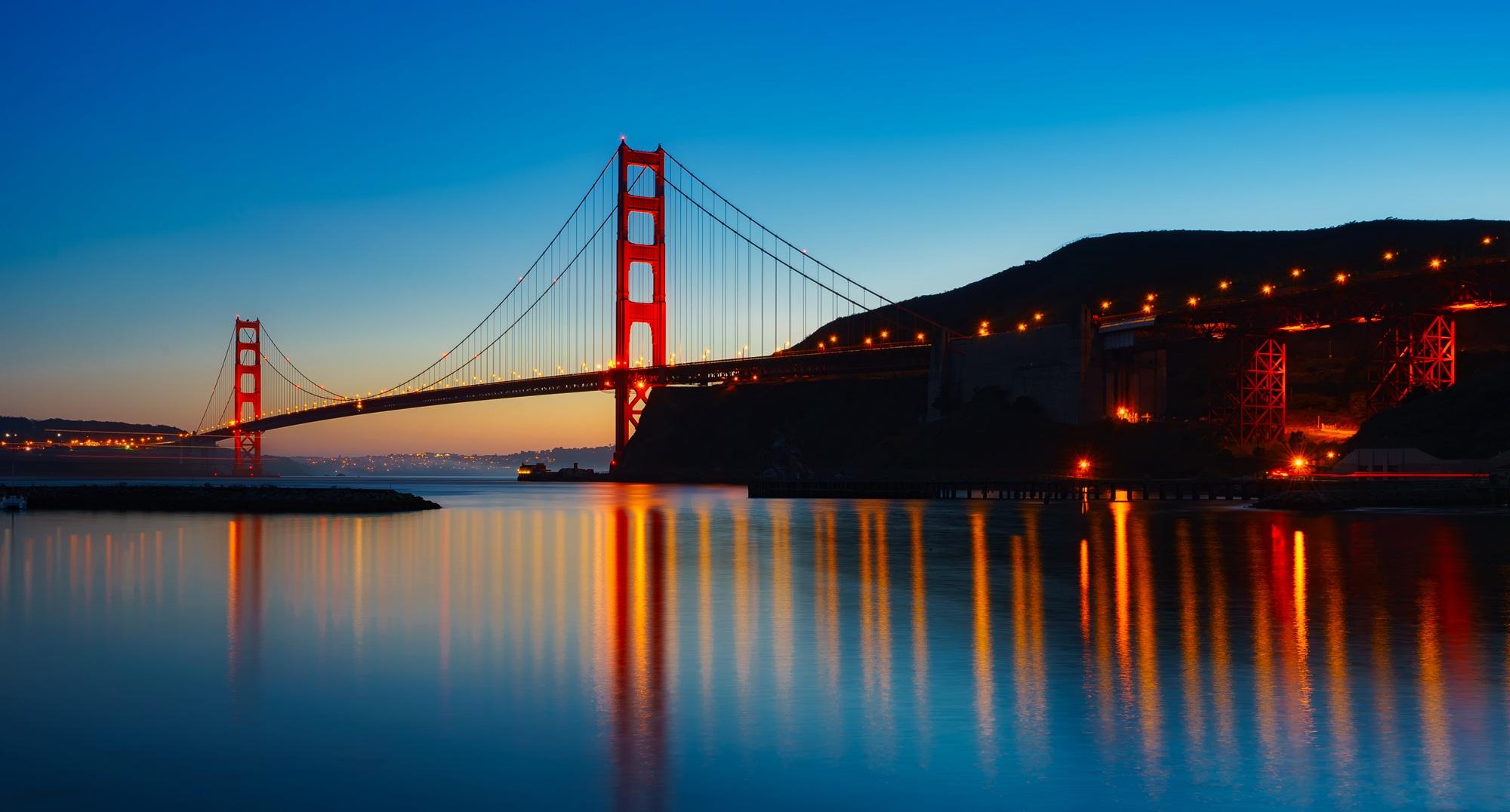 bay bridge desktop wallpaper
