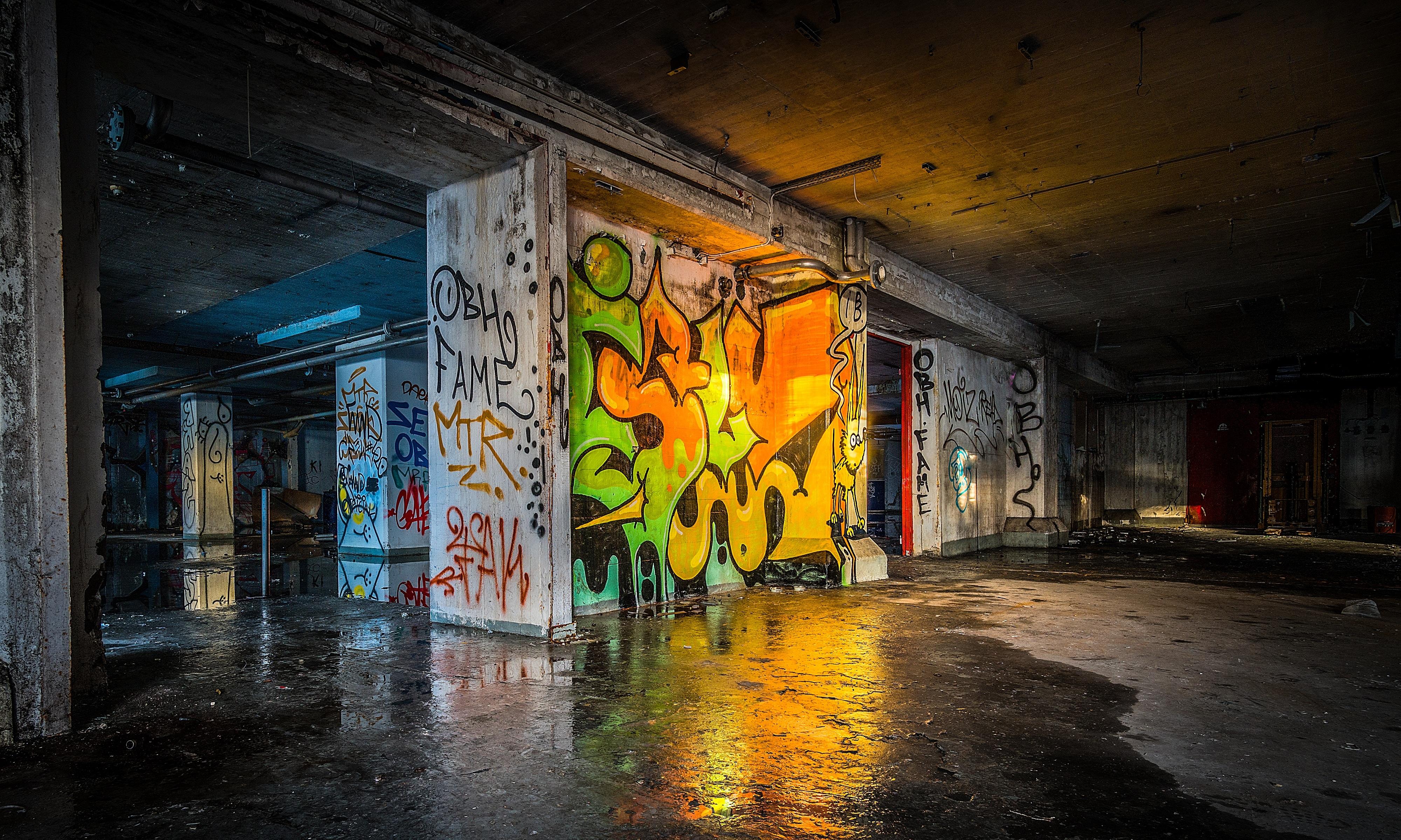Paint Floor Art
