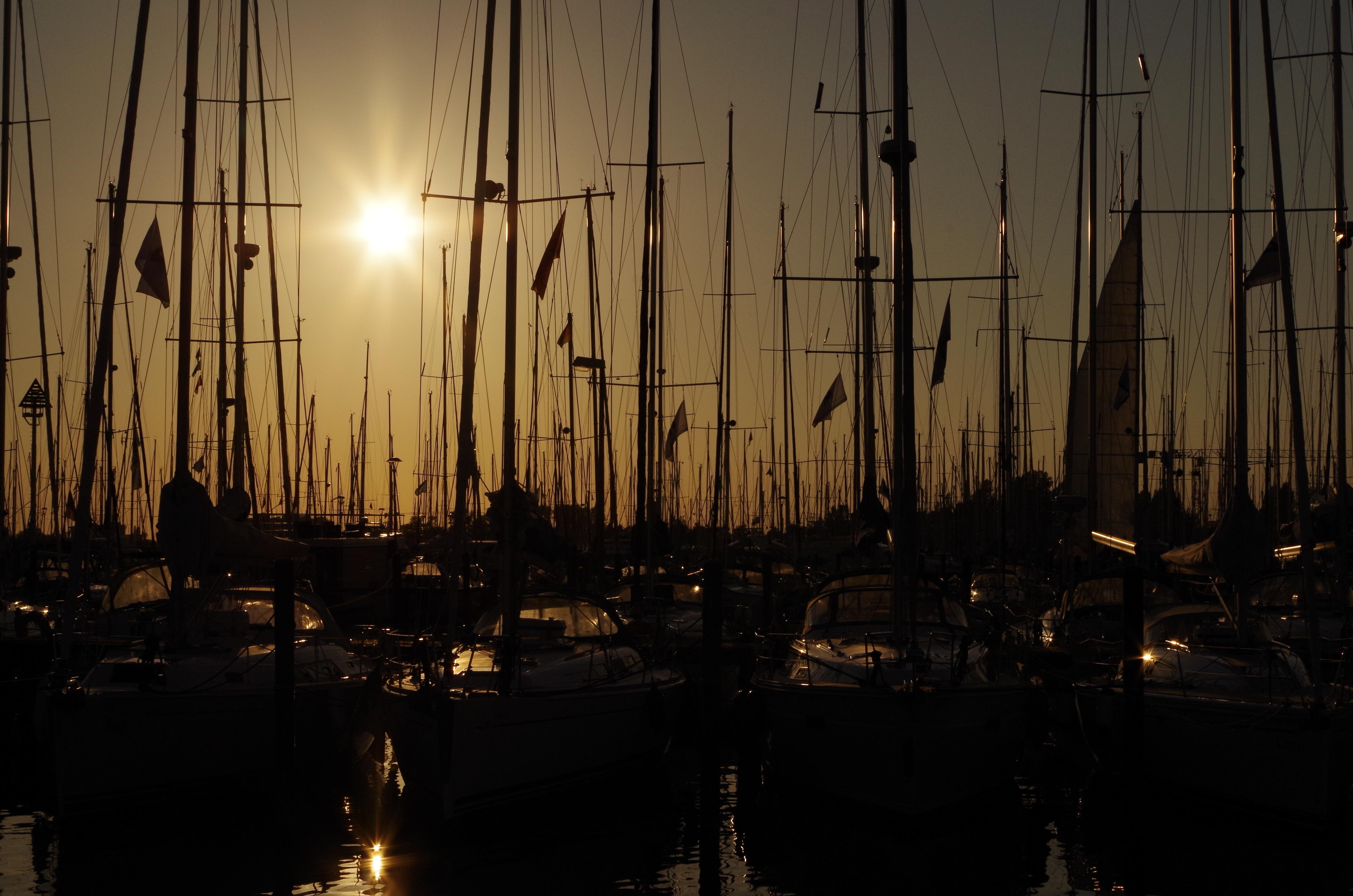 Gratis Afbeeldingen : water, licht, zonsondergang, nacht, zonlicht ...
