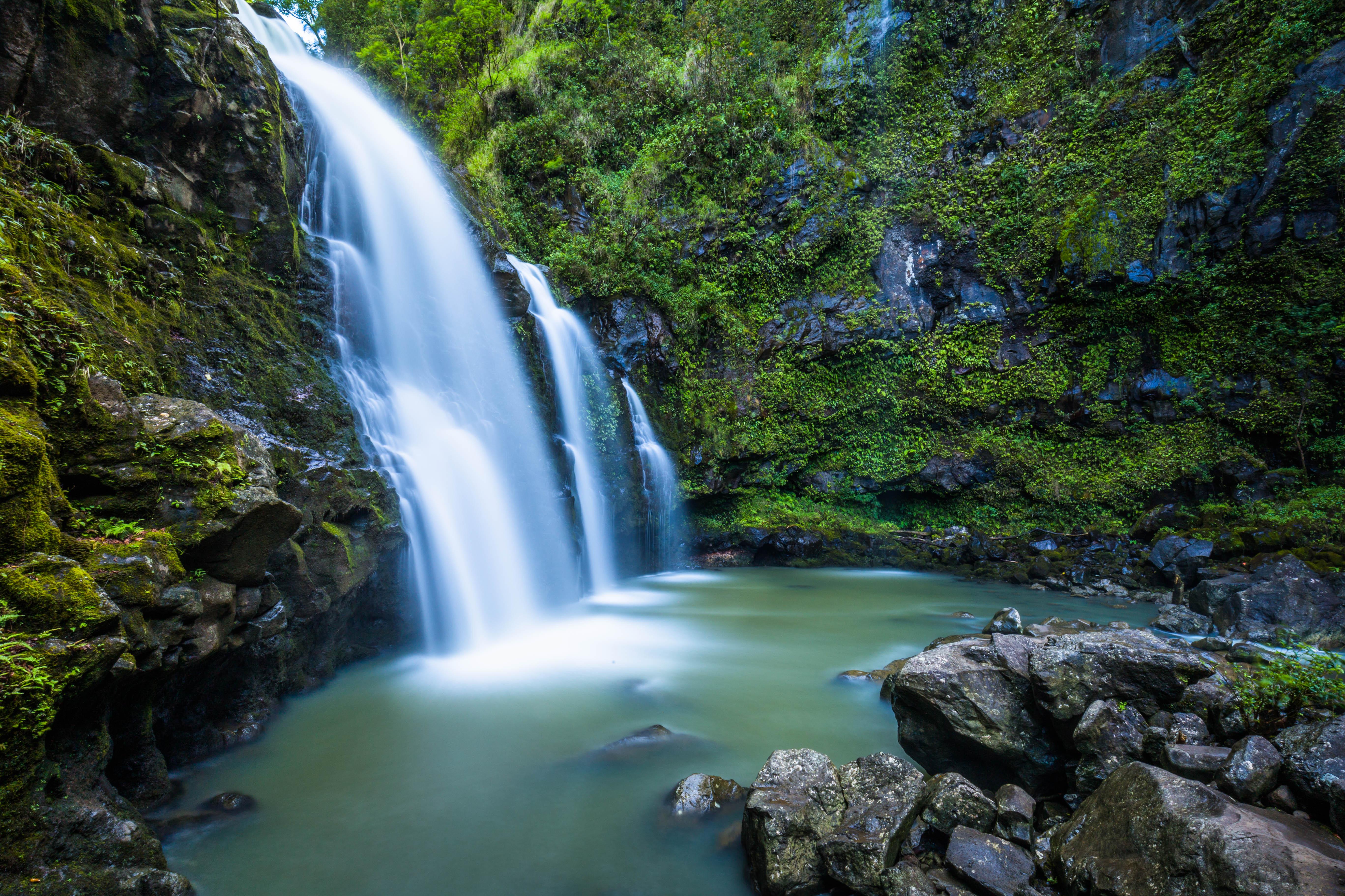 Kostenlose foto wasser natur wald wasserfall bach for Sfondi hd natura