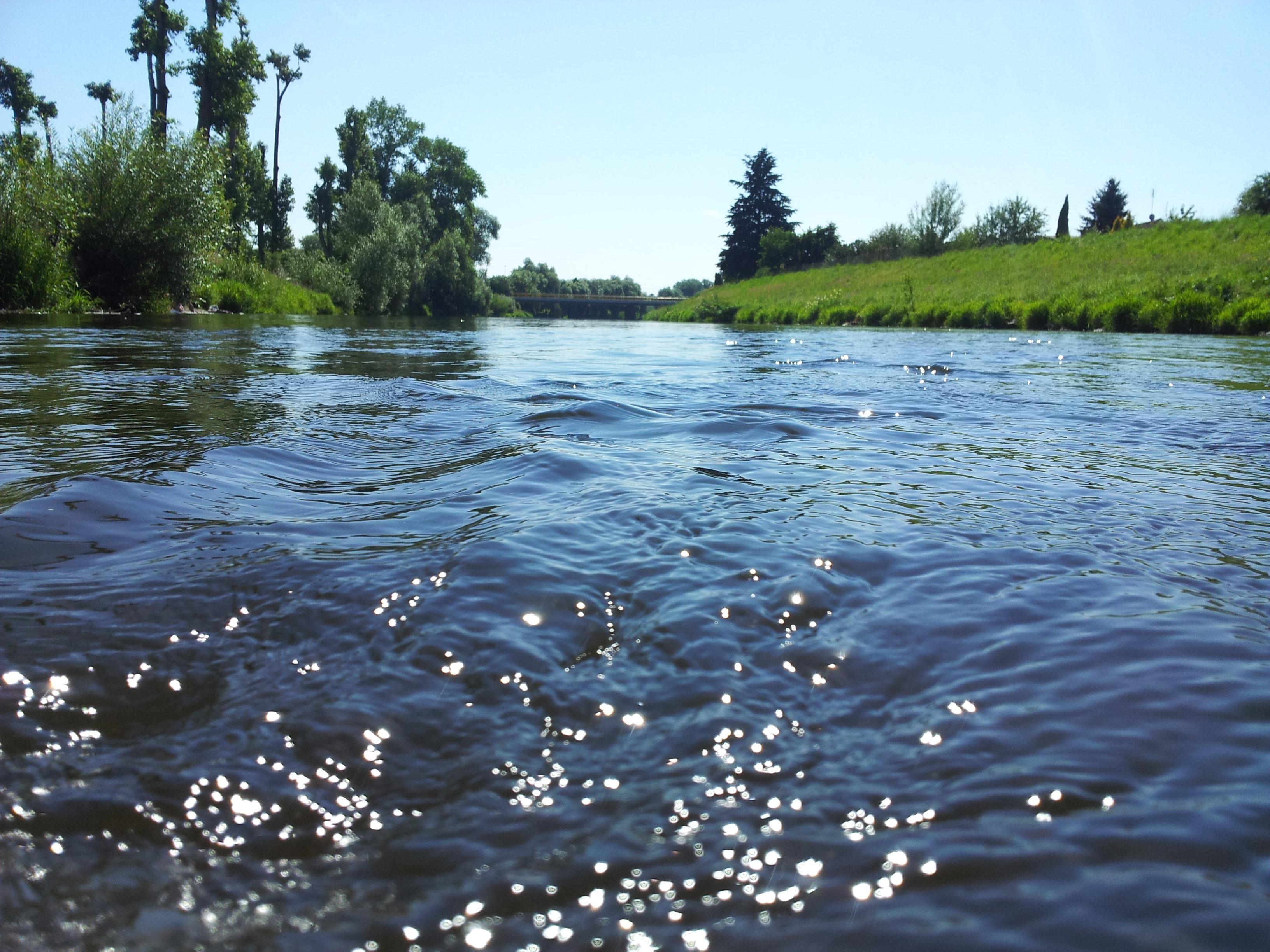 Для, картинка чистая река