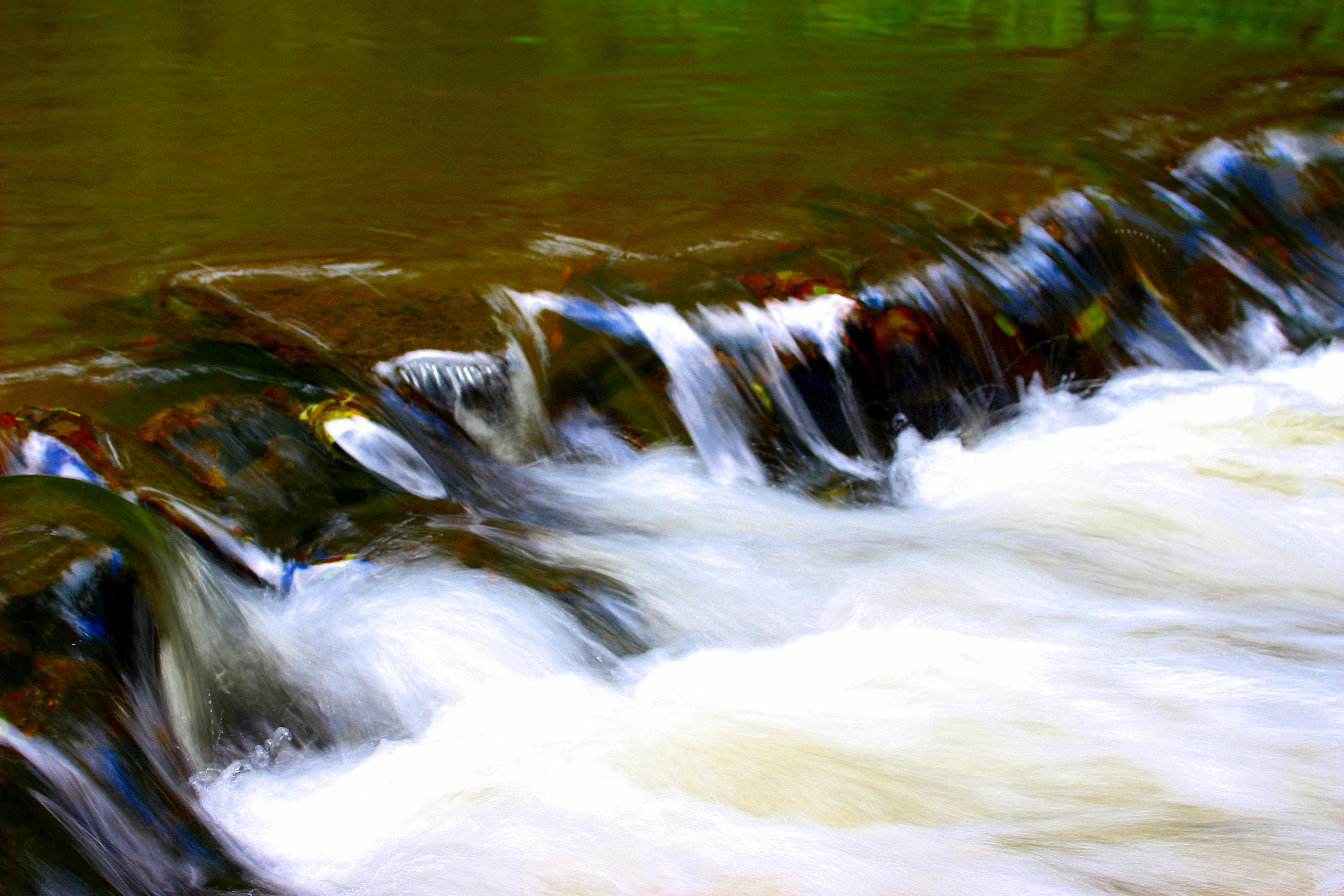 voda Příroda vodopád vlna řeka proud tok odraz kaluž rychlý romantický  dlouhé expozice bublina tělo z e5bff4cf9a8