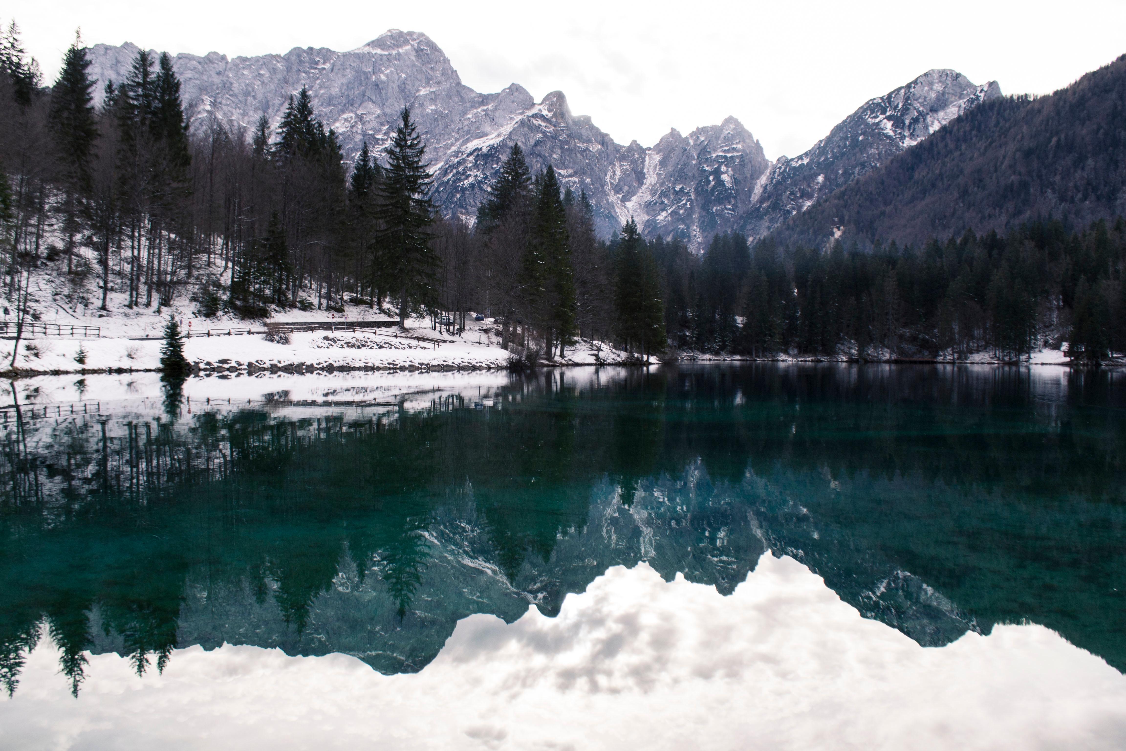 серебряное украшение горное озеро зимой фото законе выборах депутатов