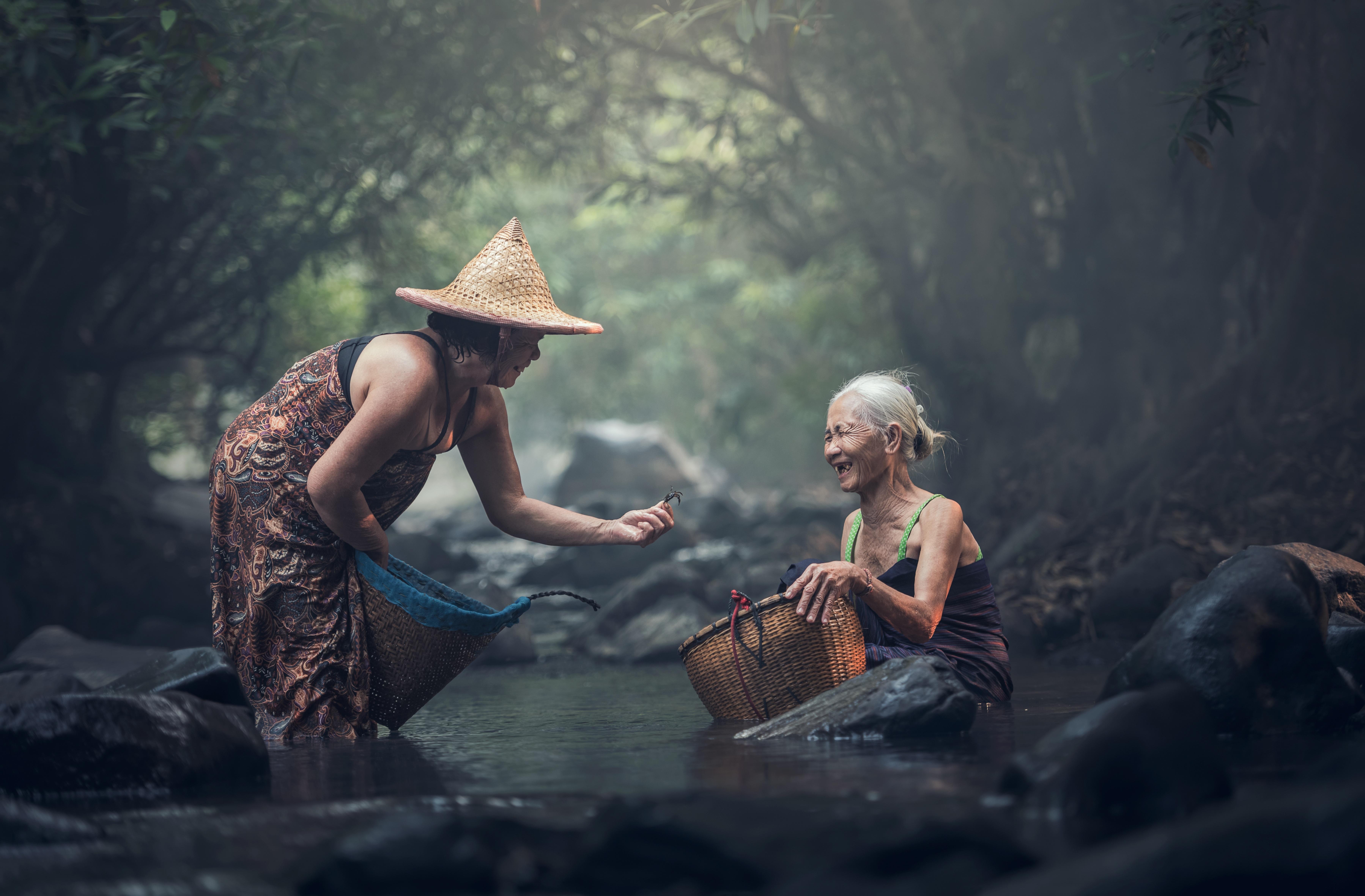 Brezplačne slike Voda, na prostem, skala, slap, ženska, kmetija, podeželje, stari, džungla-3619