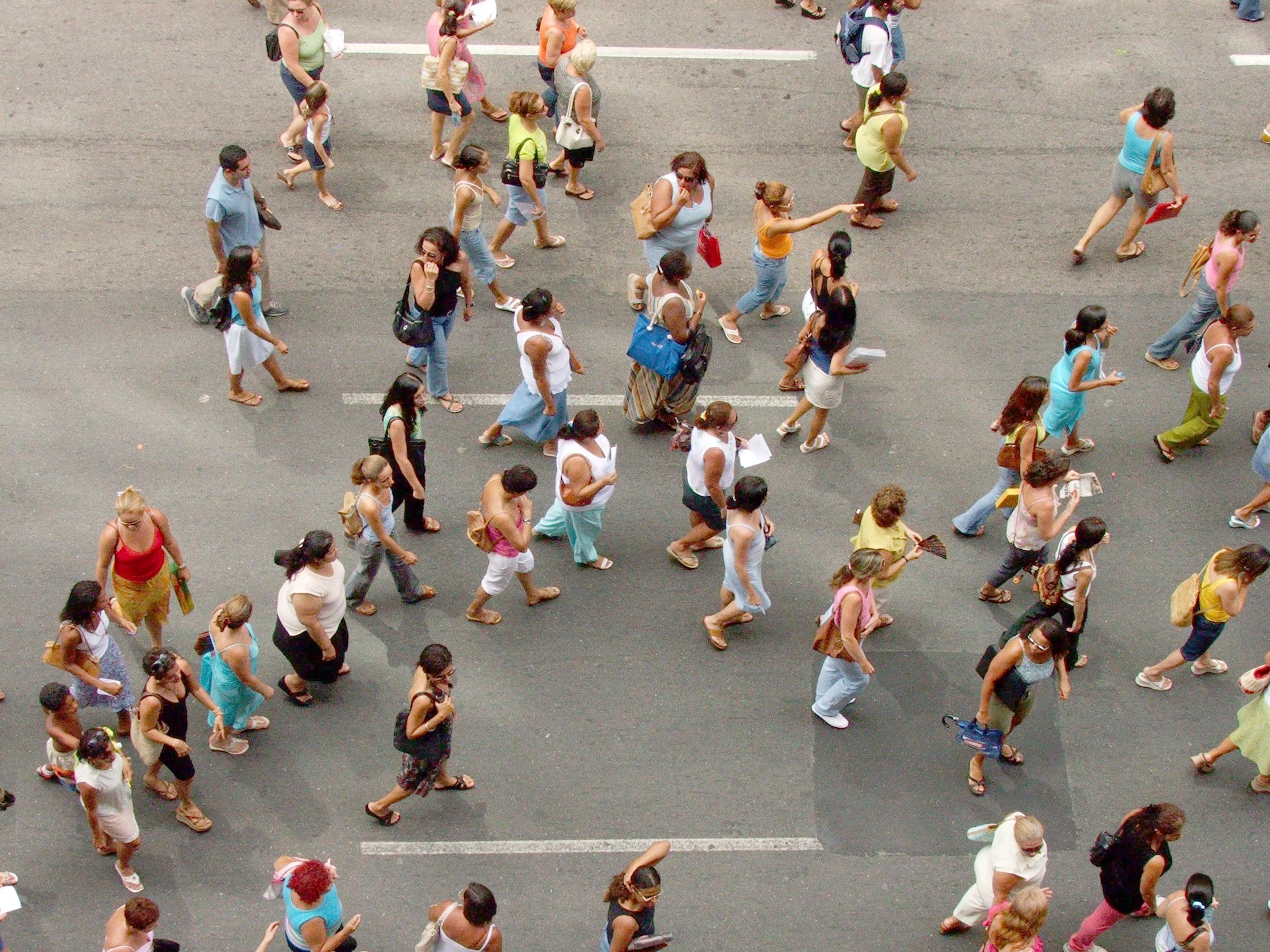 Immagini belle acqua persone vista città folla
