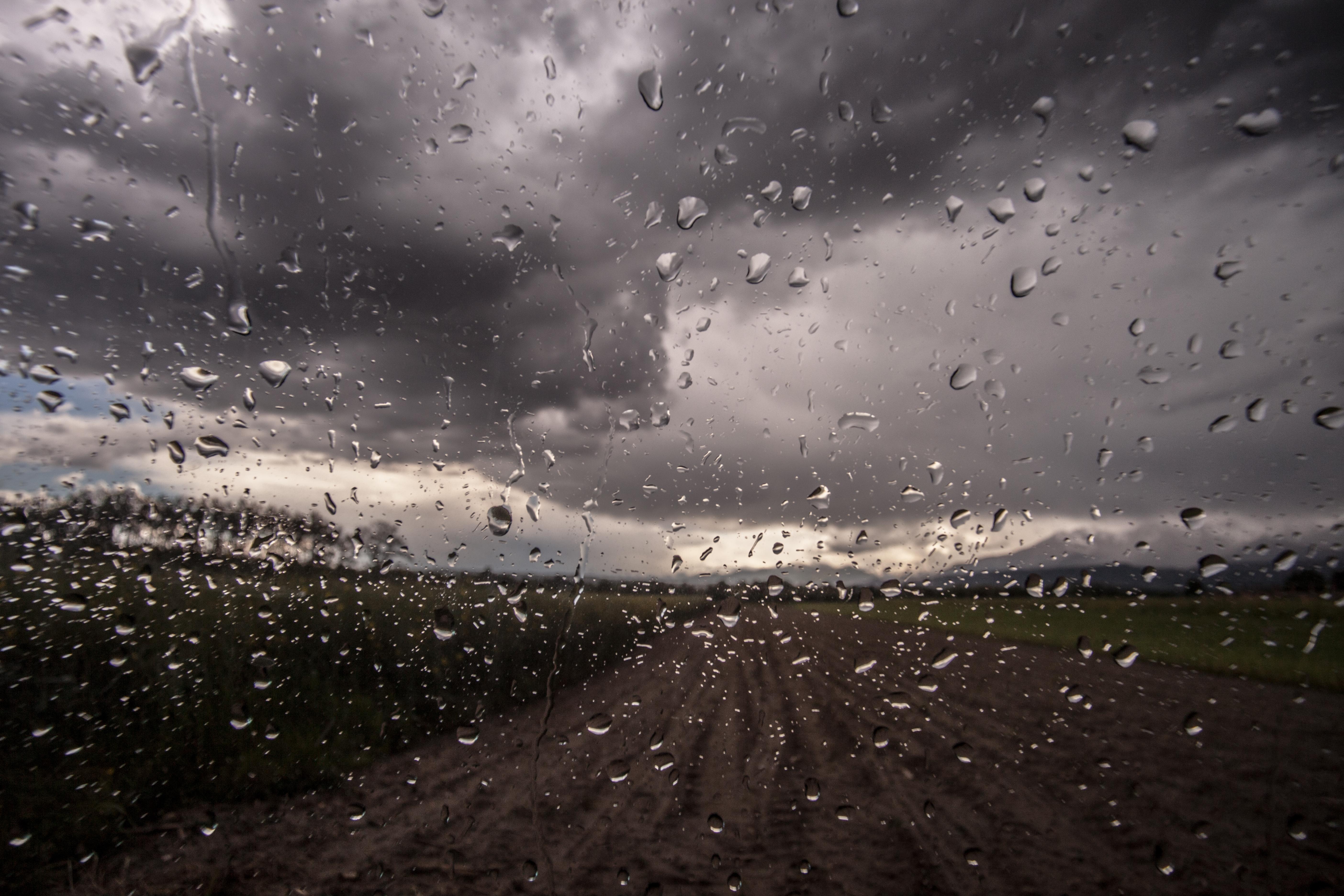 Картинка пасмурный день с дождем