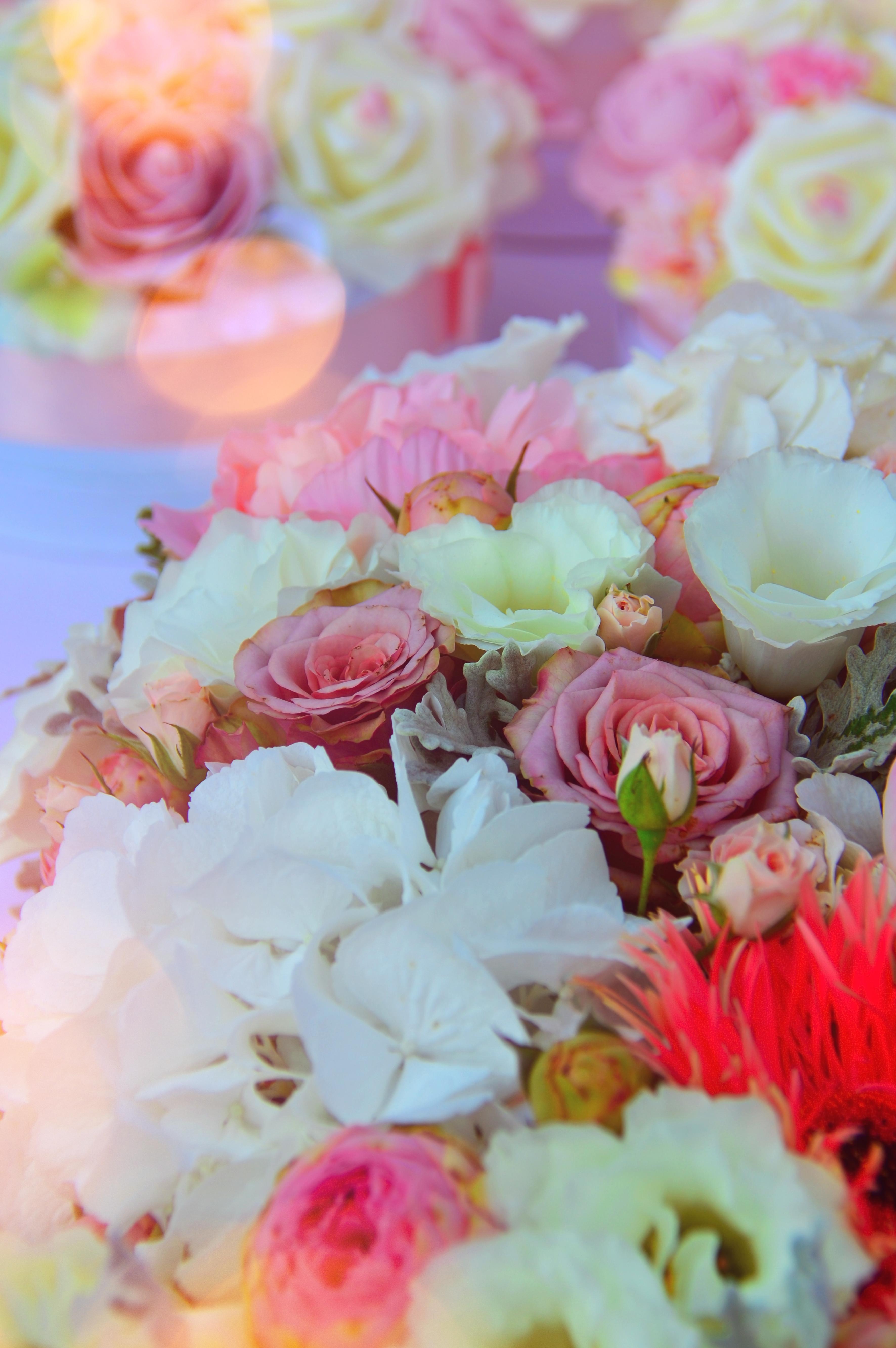 Kostenlose Foto Hochzeit Strauss Blume Farbe Schon Rosa