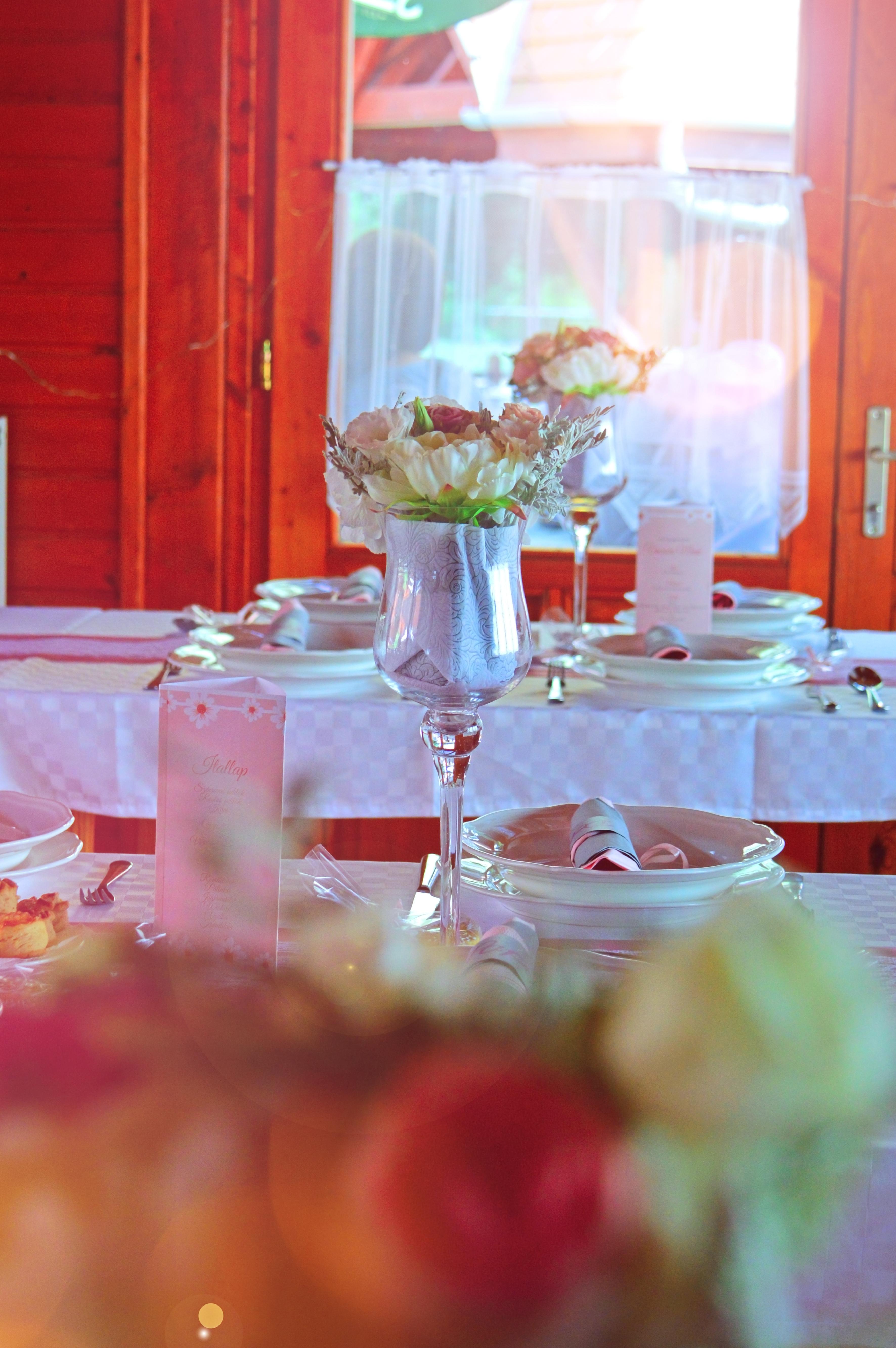 Kostenlose foto : Hochzeit, Tabelle, Dekoration, Rahmen, Weiß, schön ...