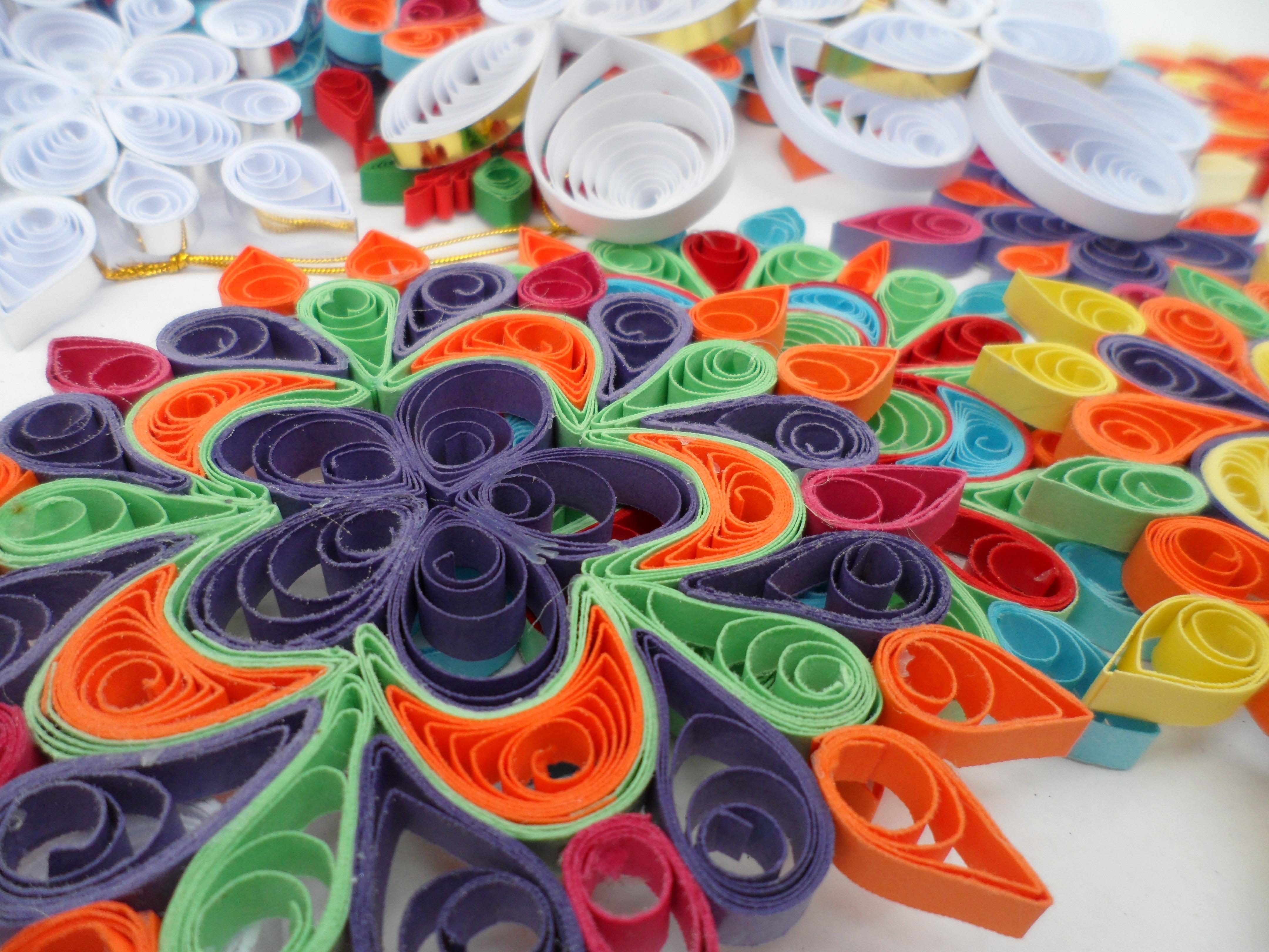 Wheel Flower Petal Pattern Color Circle Art Colors Filigree Mandalas