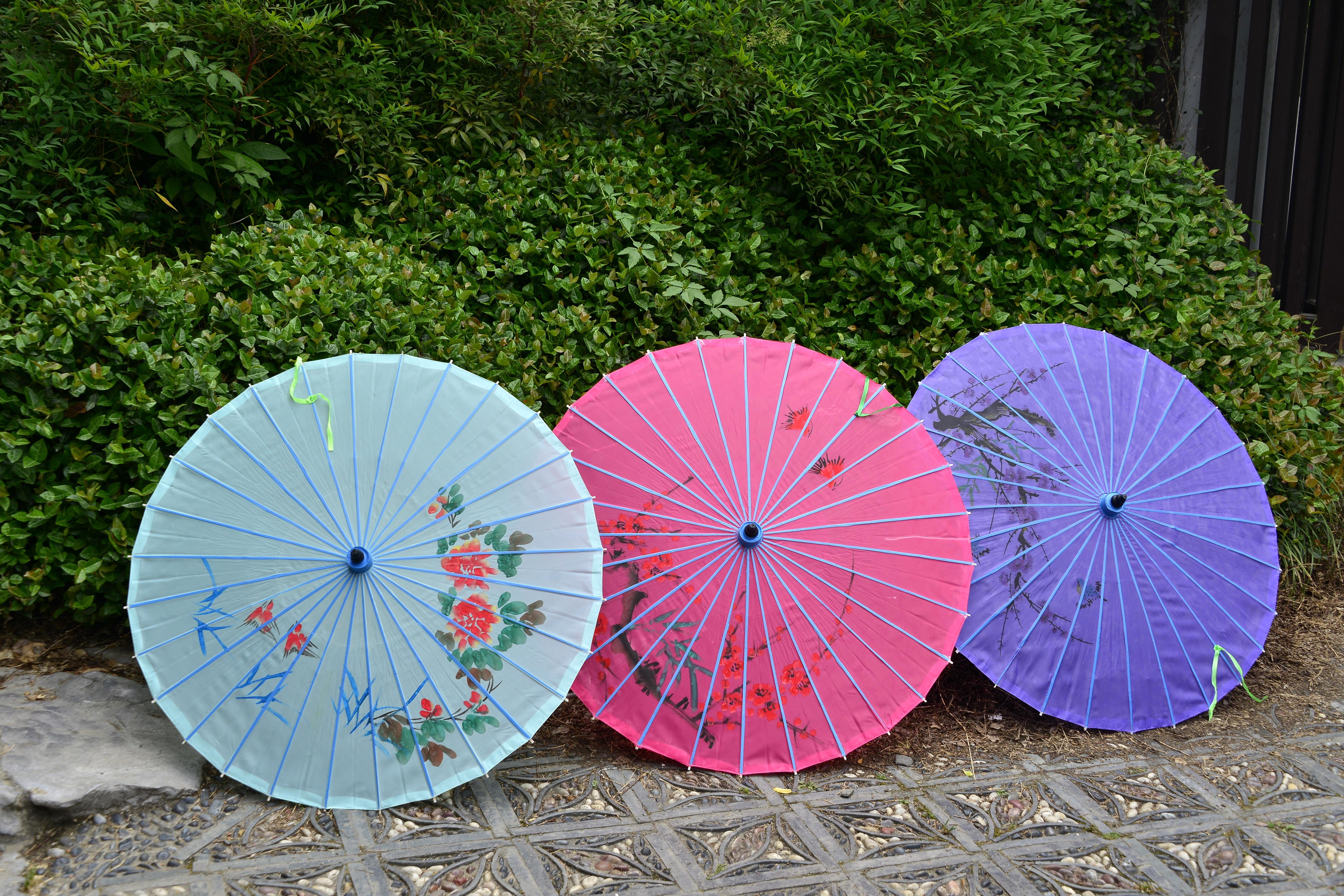 Китайские зонтики картинки