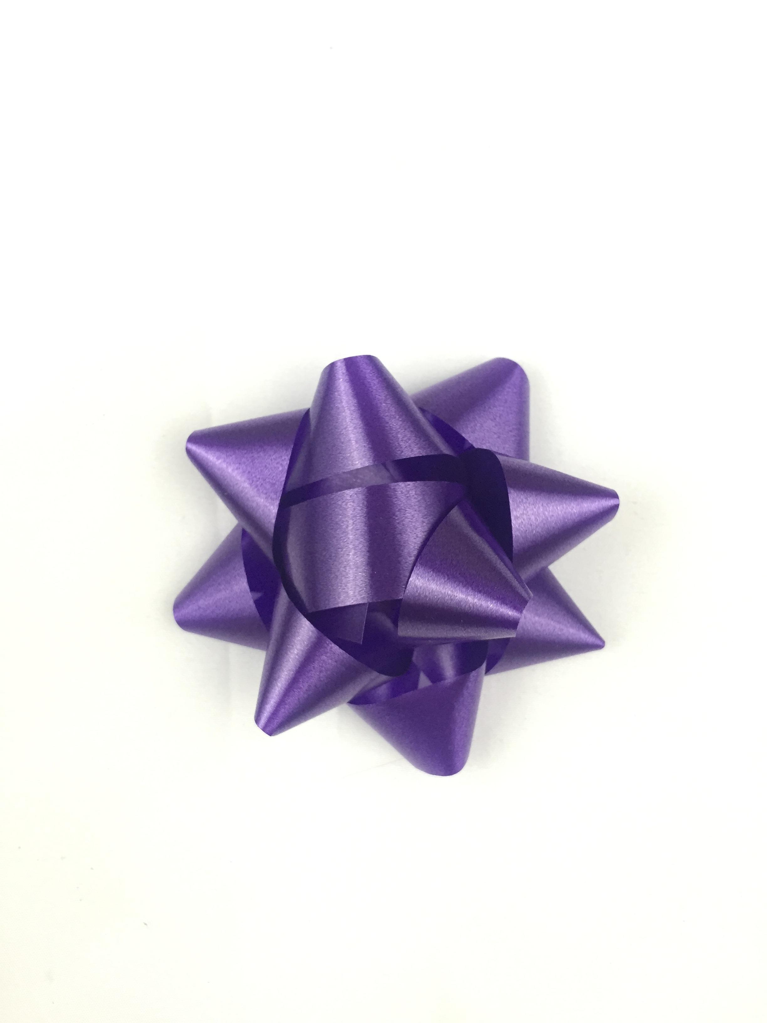 Wheel Purple Petal Celebration Gift Holiday Christmas Package Present Art Violet Bow Surprise Wrap Origami Fashion