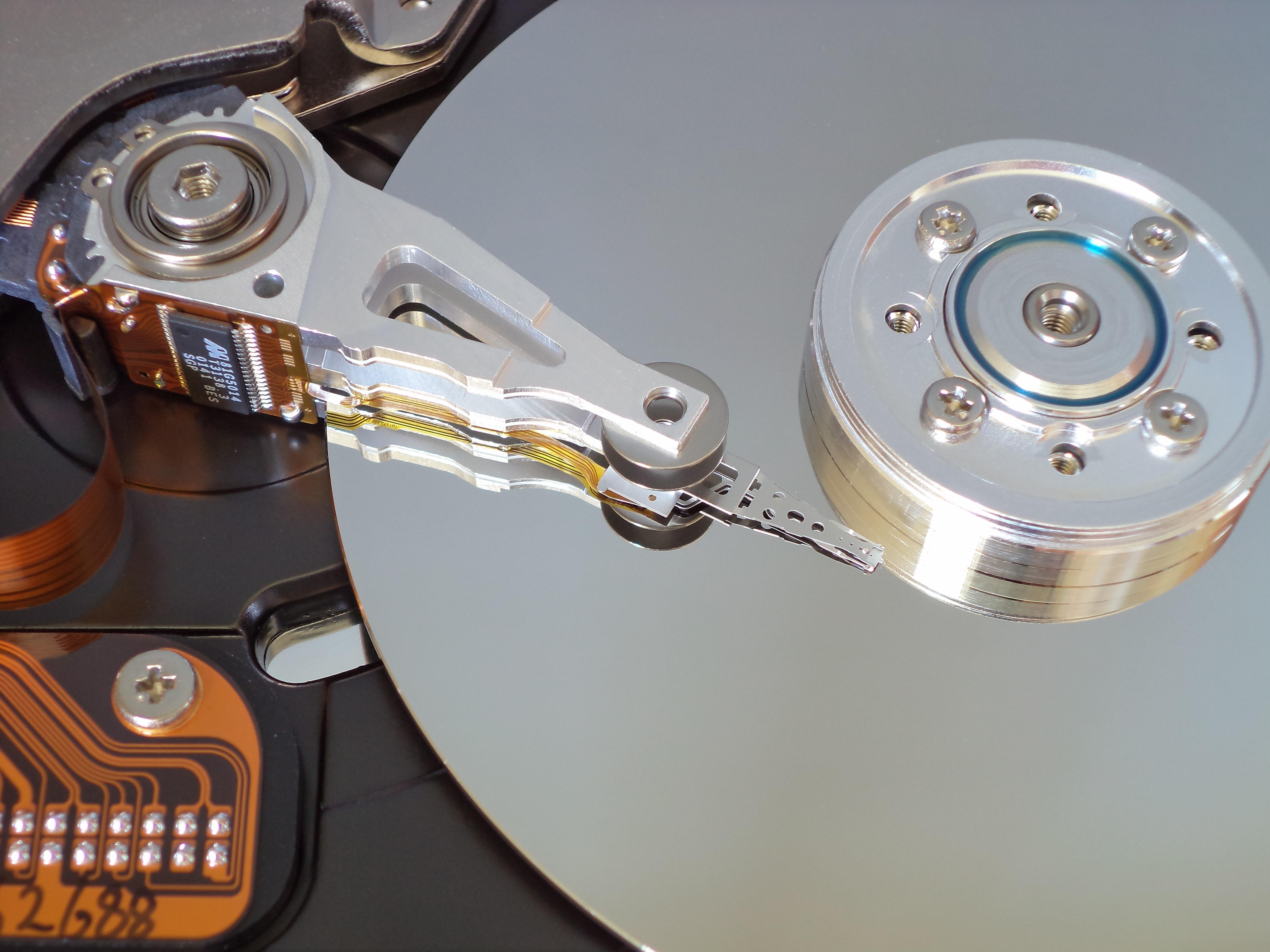 Data retrieval from broken hard drive