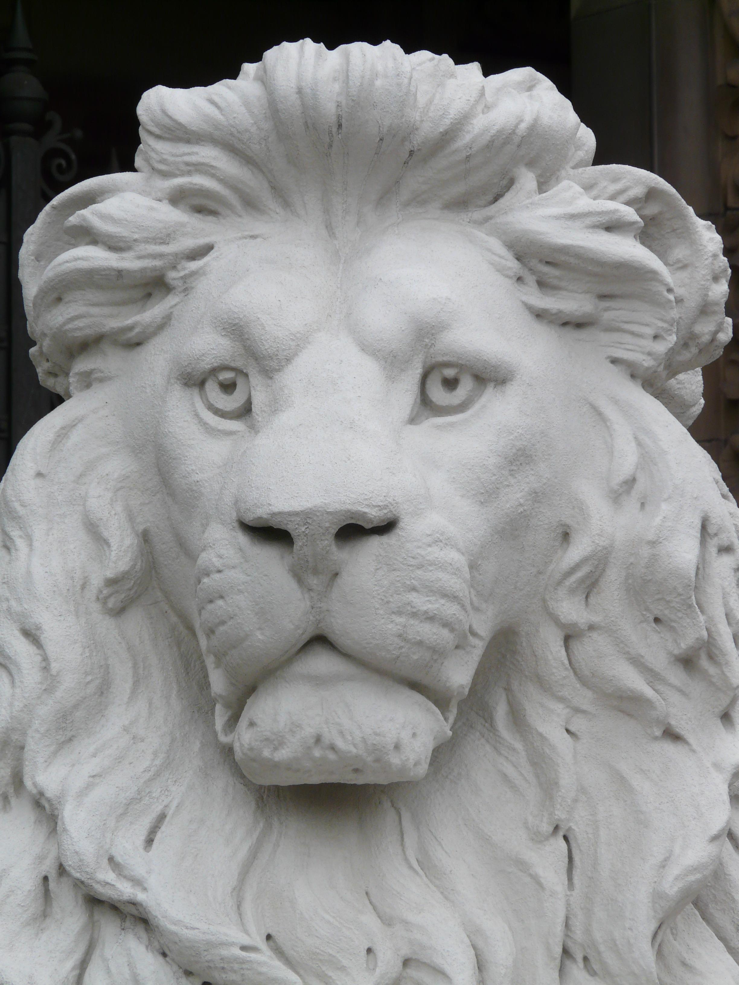 free images   white  animal  monument  statue  monochrome  lion  art  head  relief  gypsum