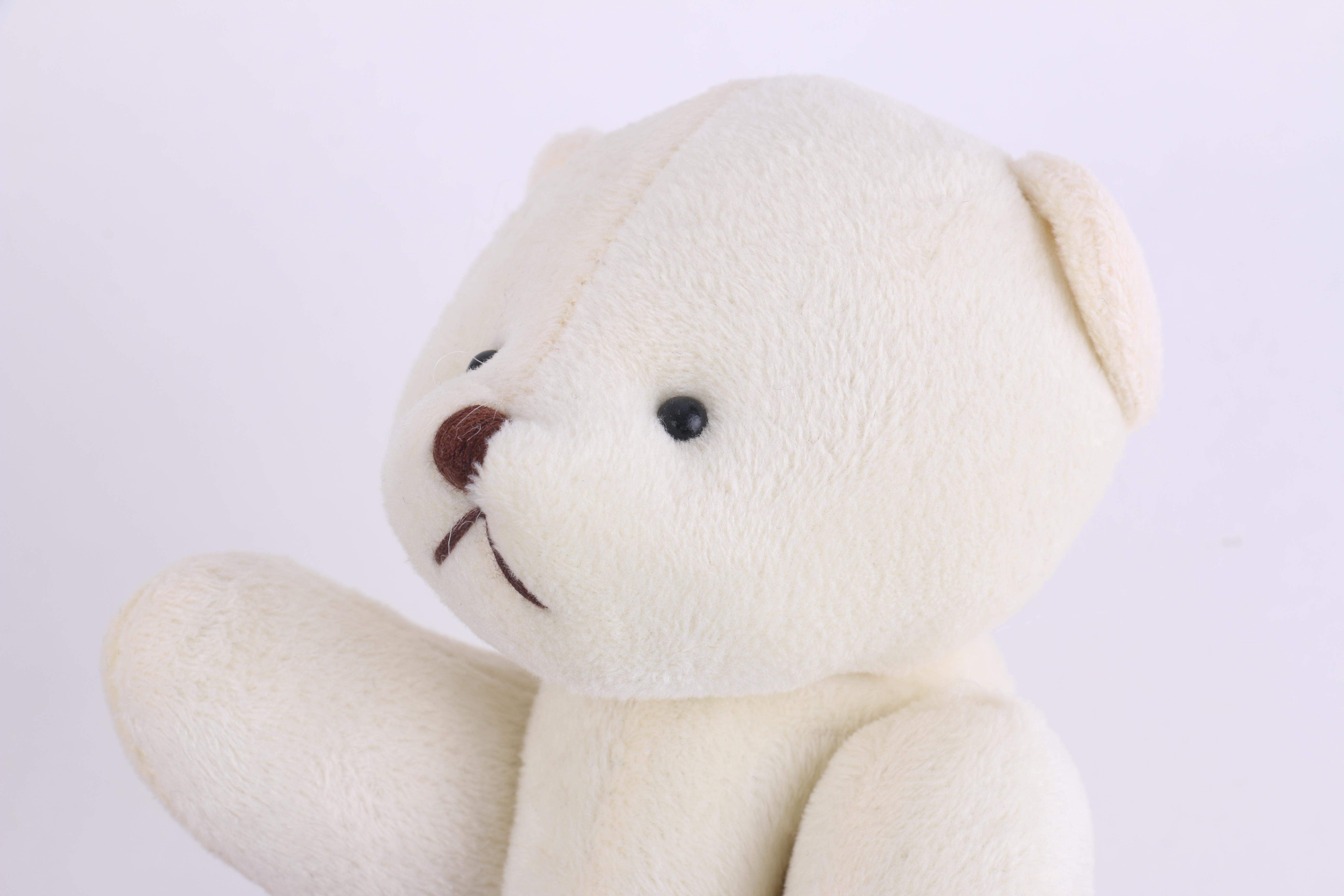 Fotos gratis : blanco, juguete, material, oso de peluche, textil ...