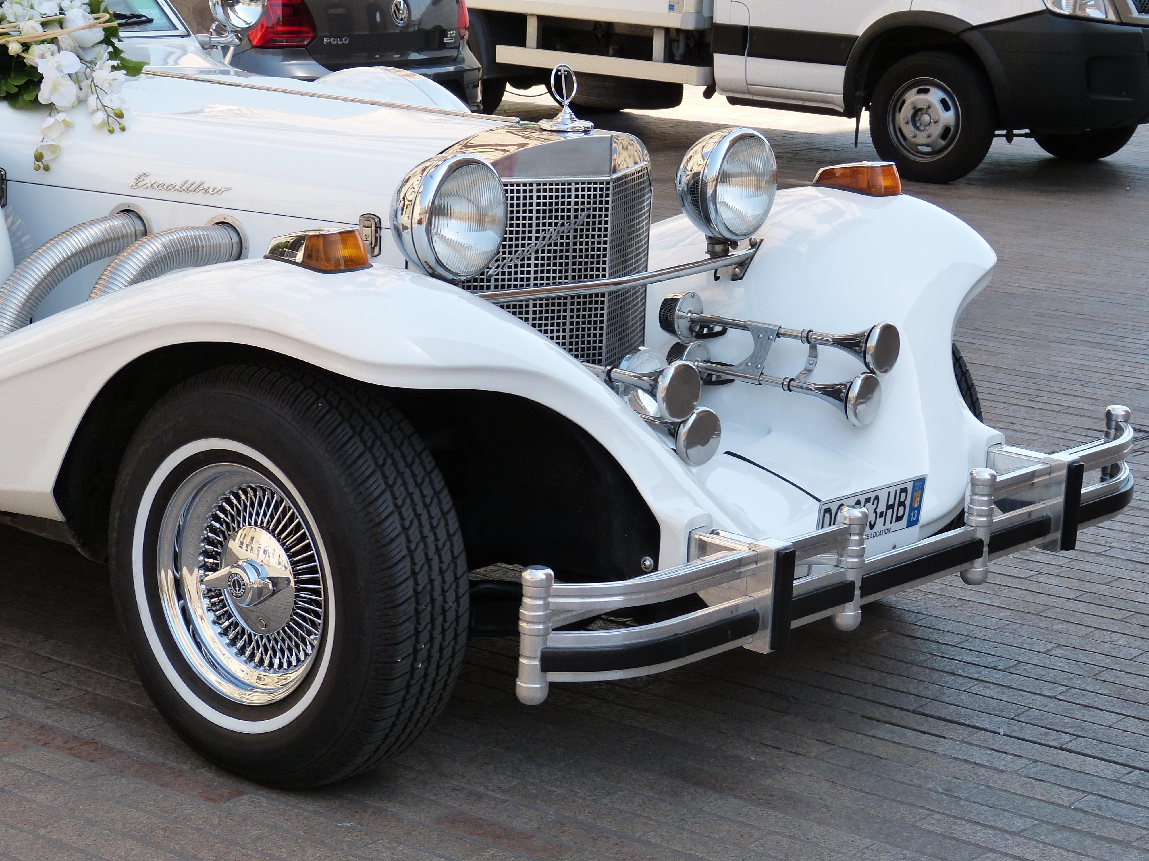 Kostenlose Foto Weiss Fahrzeug Romantisch Hochzeit Sportwagen