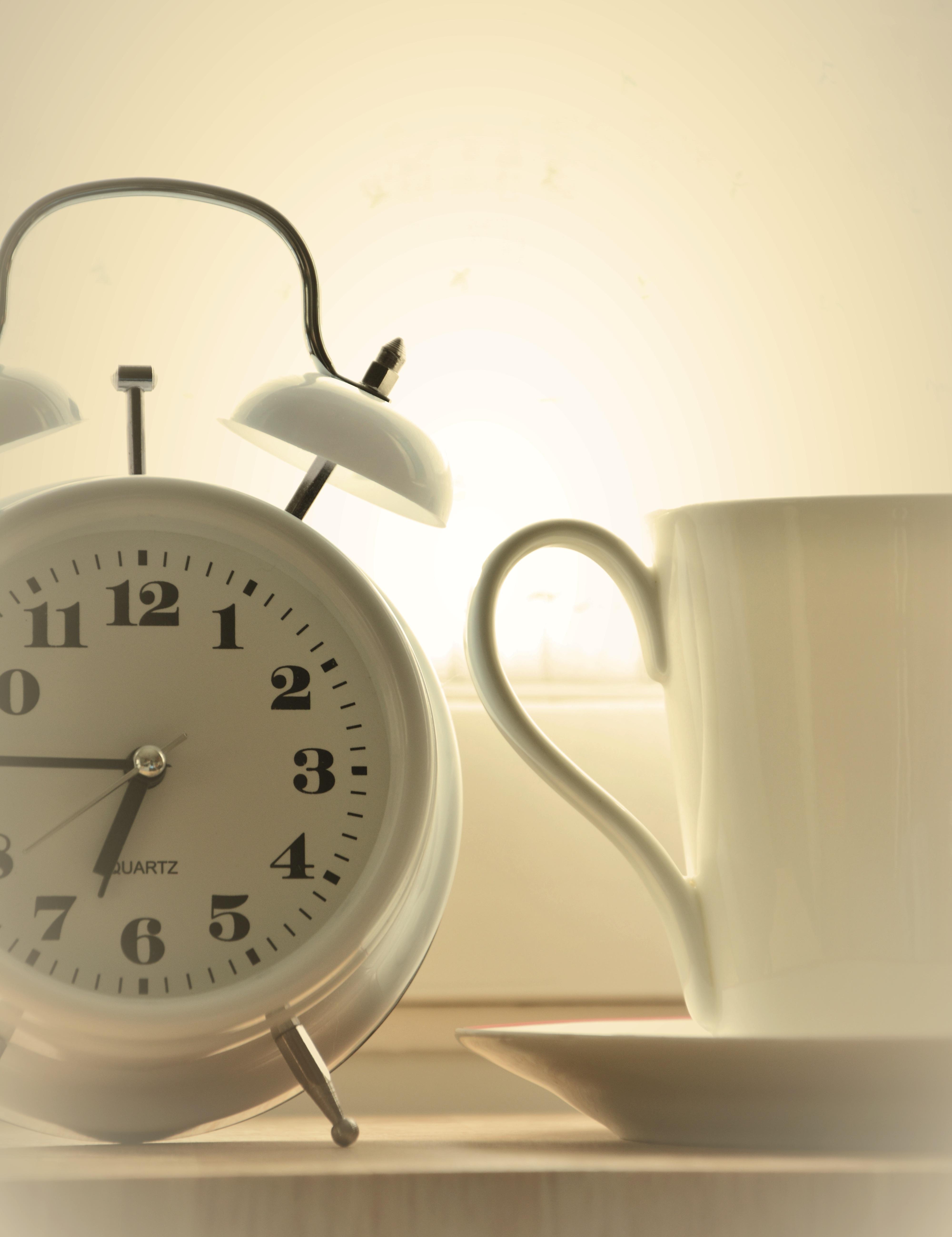 Free Images White Alarm Clock Lamp Furniture