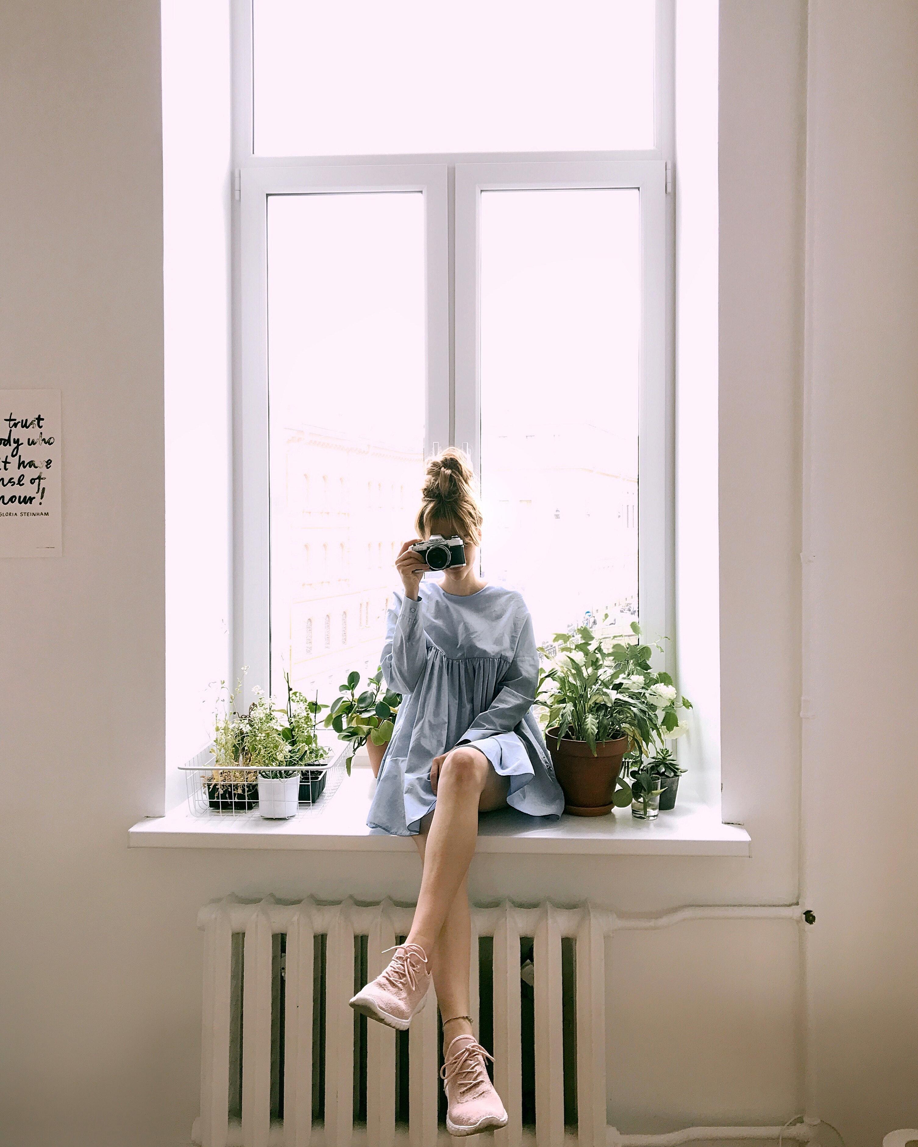 как правильно фотографировать возле окна скатерти