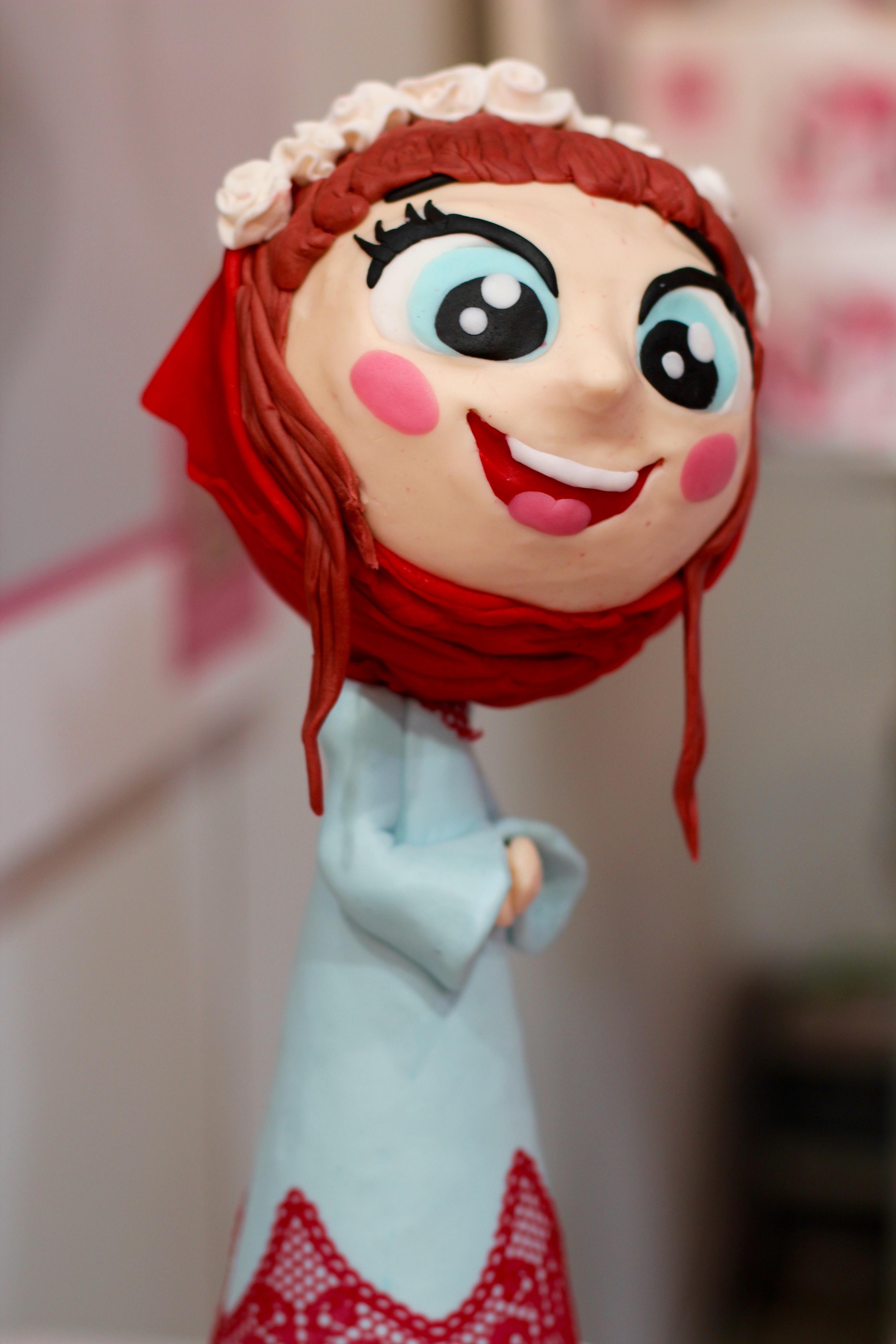 Gambar Putih Bunga Pakaian Berwarna Merah Muda Mainan Ara