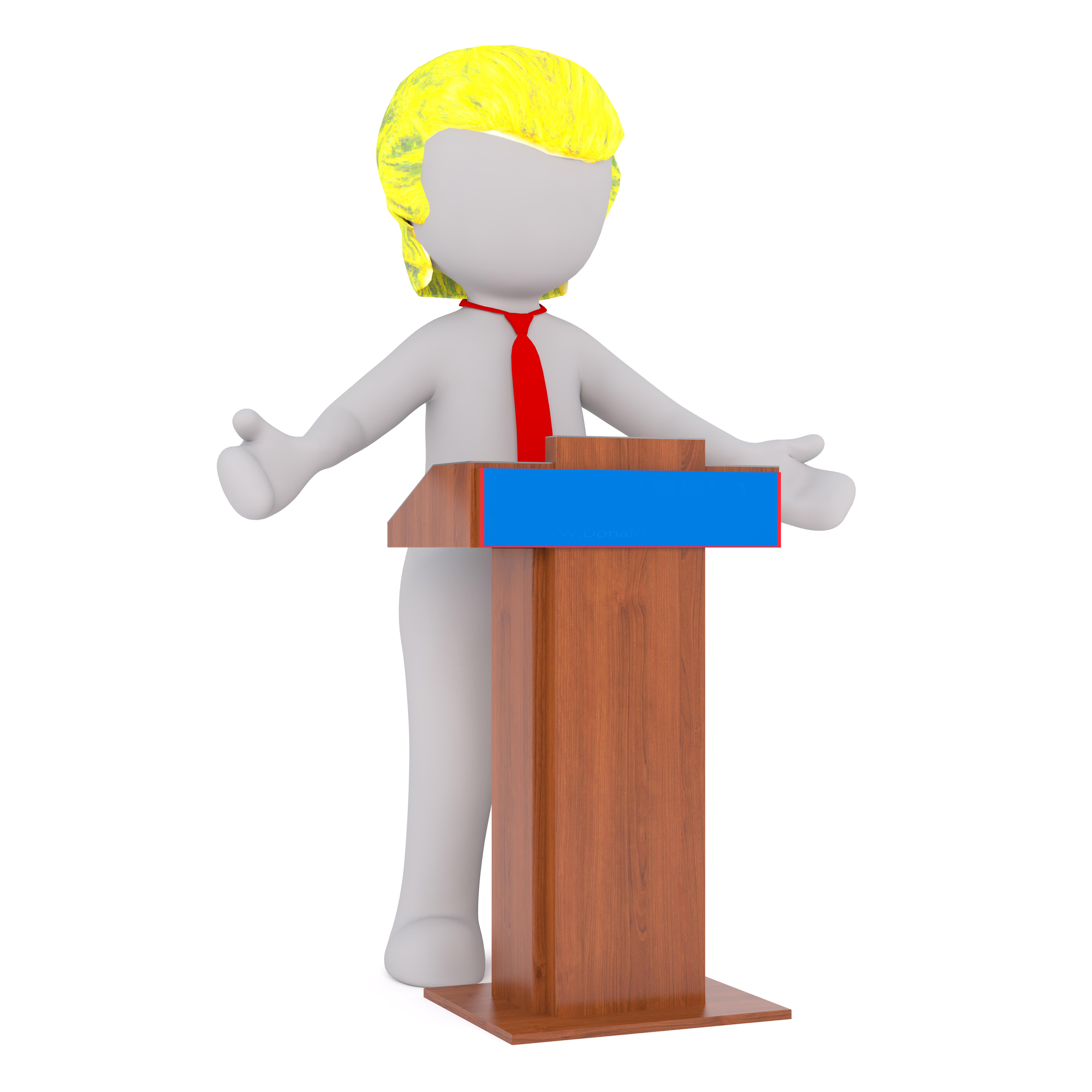 Free images isolated usa president product - Dessin podium ...