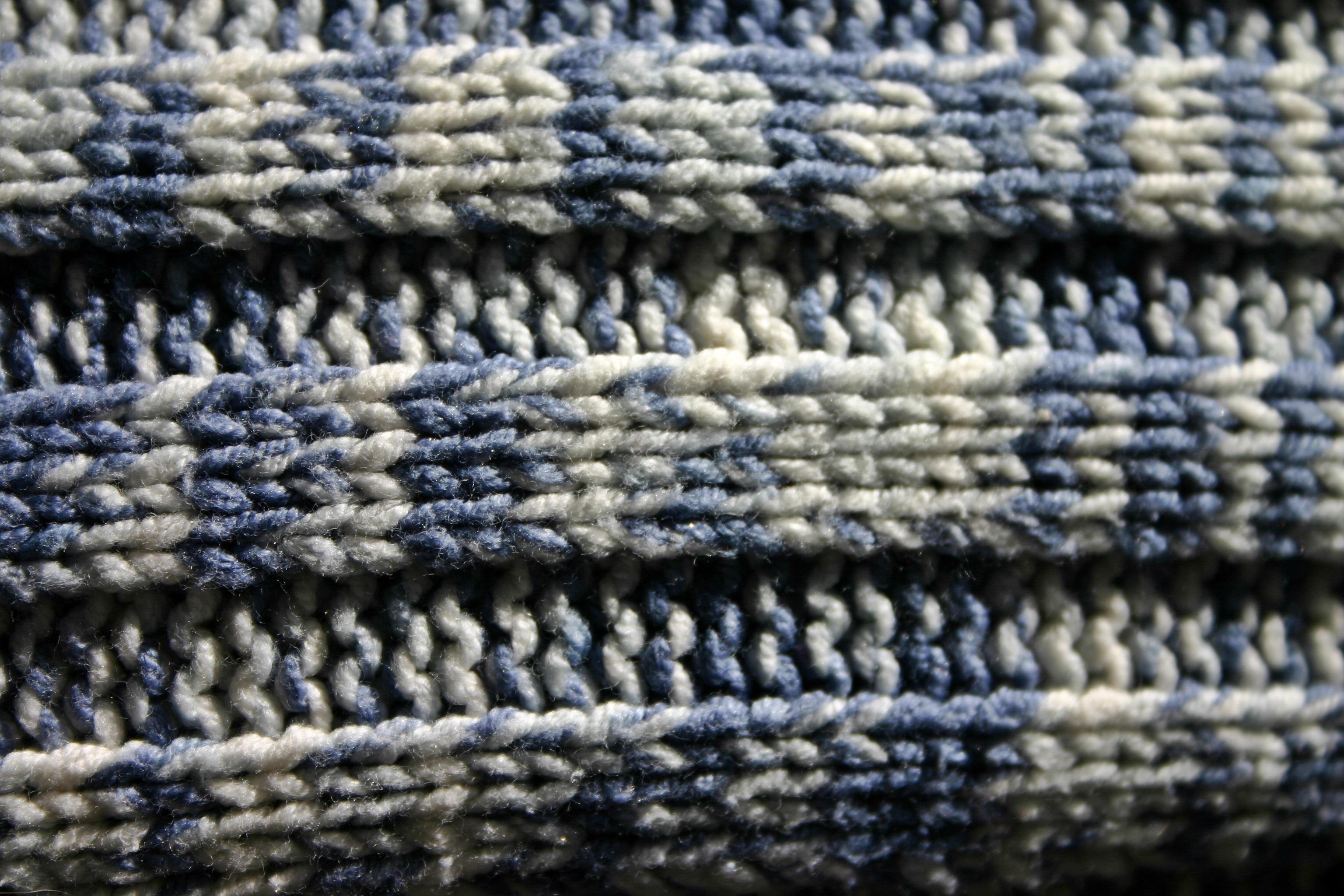 Fotos gratis : blanco, patrón, azul, ropa, tejer, material, suéter ...