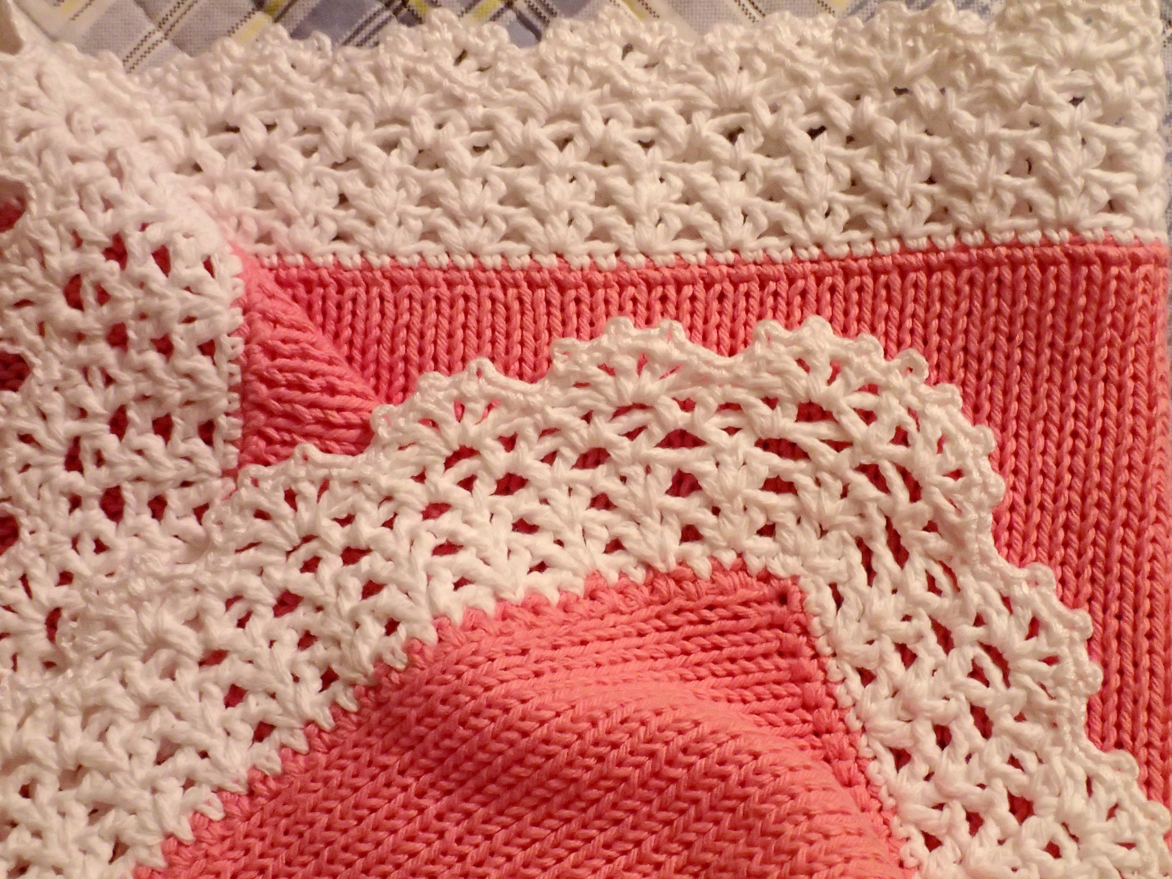 Kostenlose Foto Weiß Muster Rosa Material Häkeln Stricken