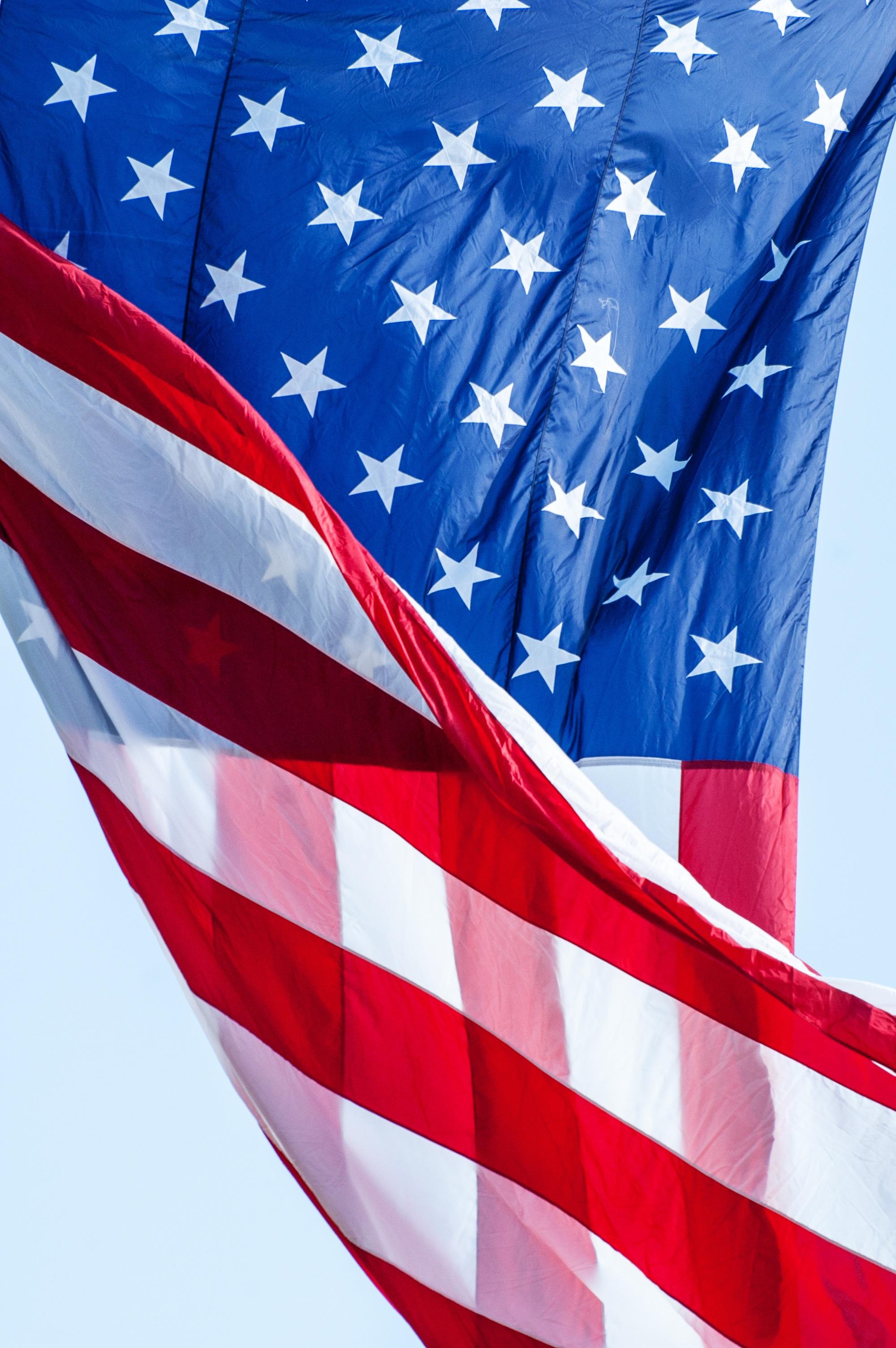 Free Images   White  Red  American Flag  Blue  Patriotism