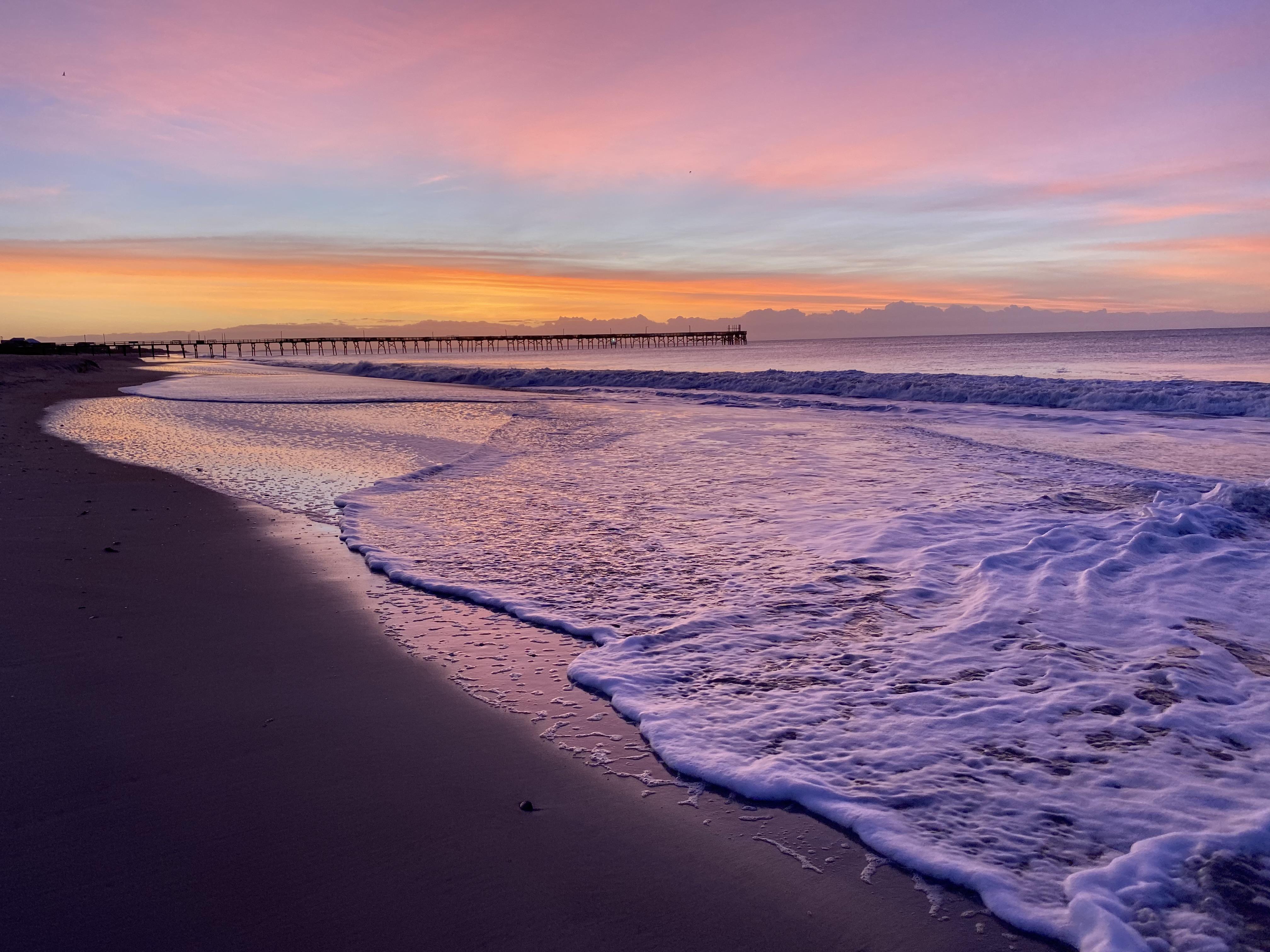 Gambar Putih Langit Badan Air Laut Horison Lautan