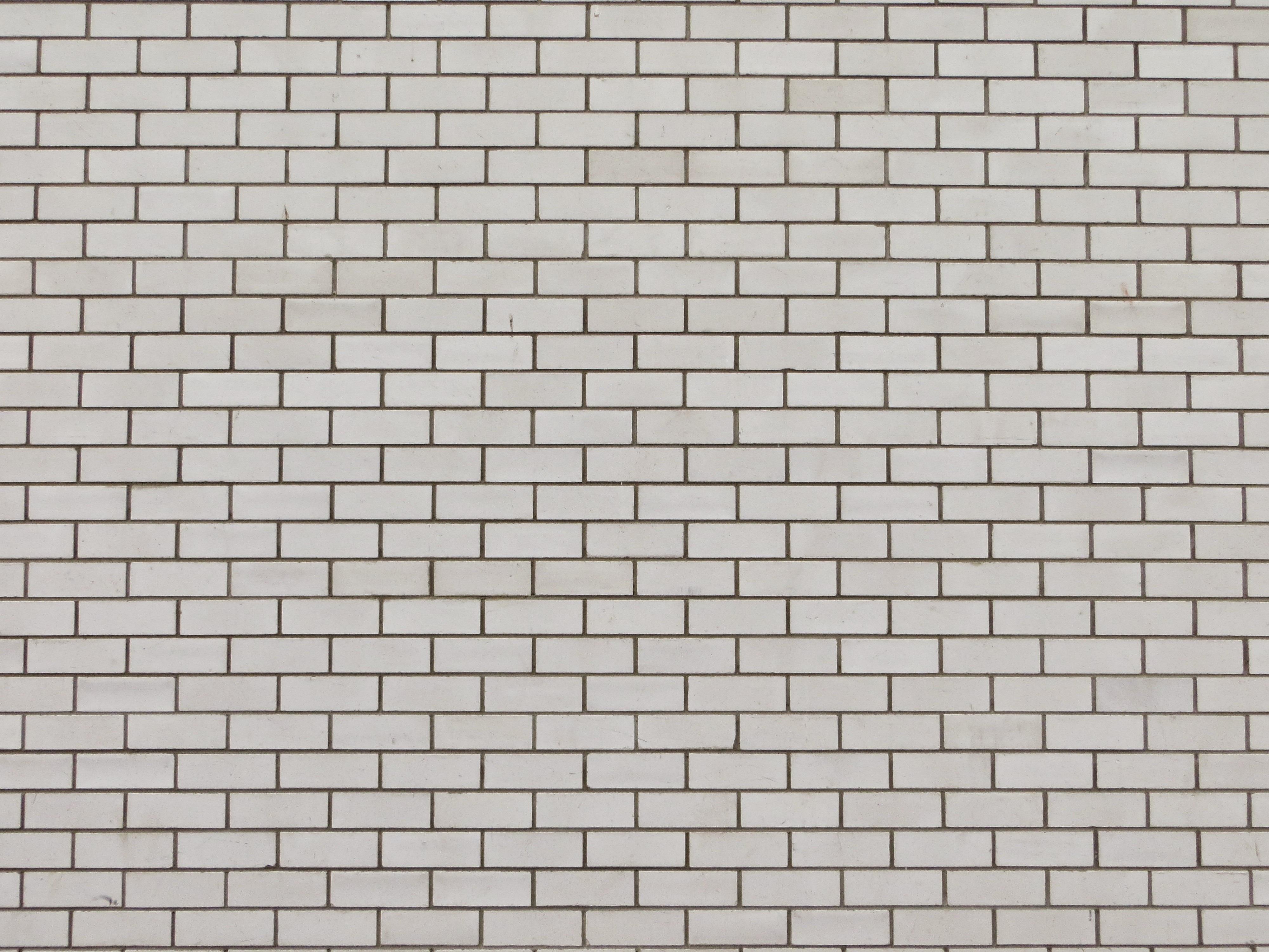 White Texture Floor Wall Stone Tile Brick Material Bricks Brickwork Flooring