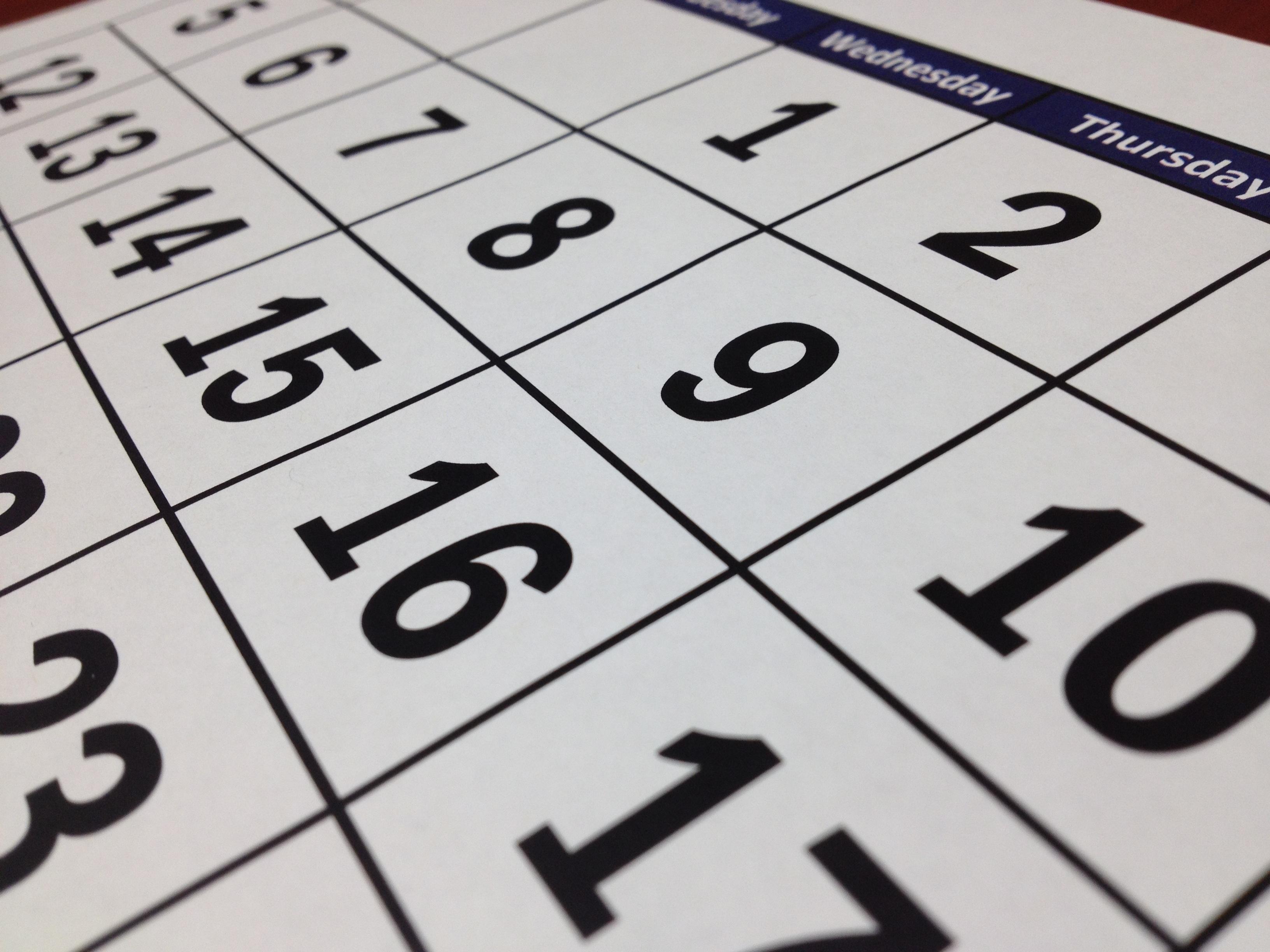 Calendar Month Design : Free images white time number line black paper toy