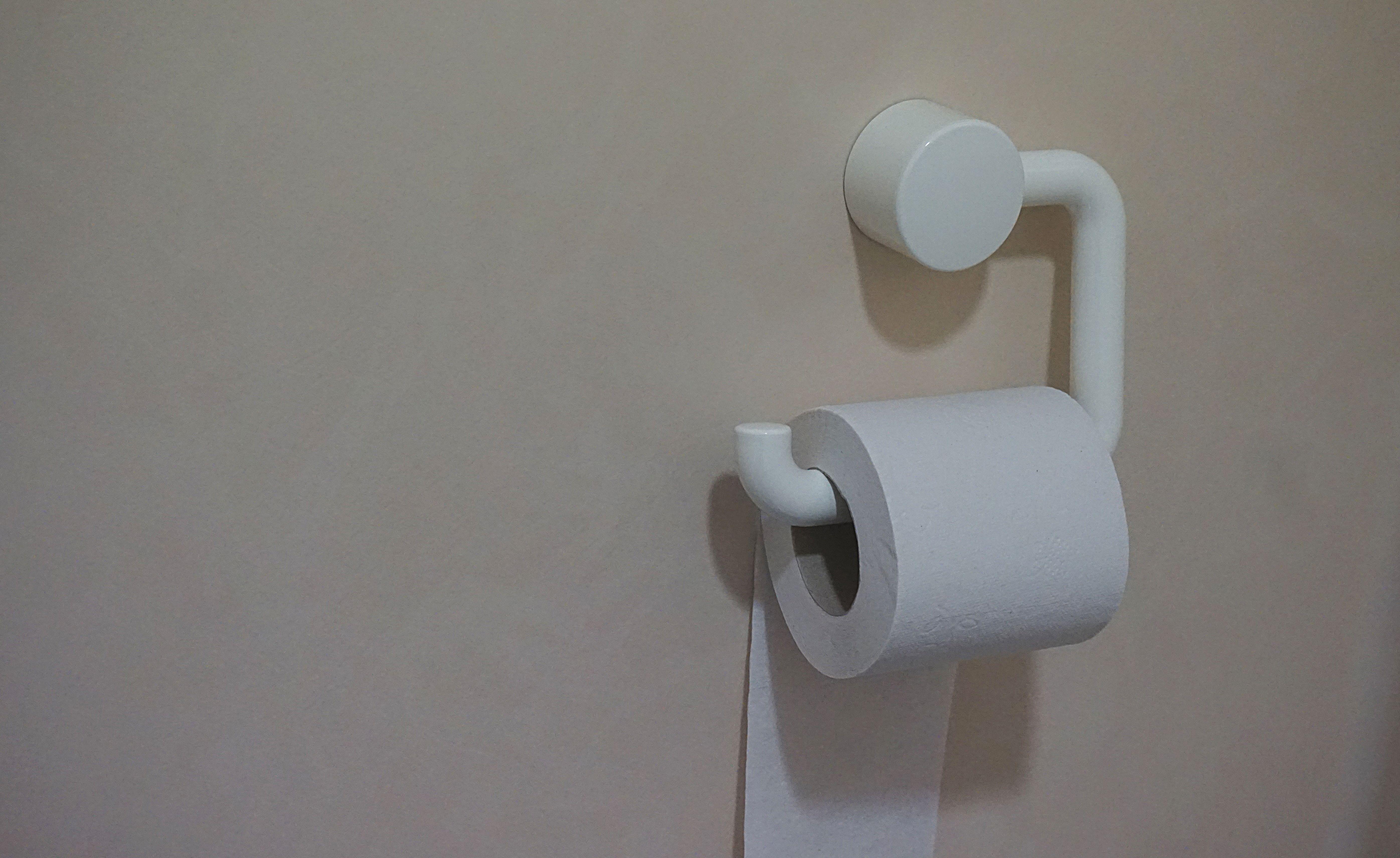 Gambar Putih Dinding Bayangan Toilet Lampu Telinga