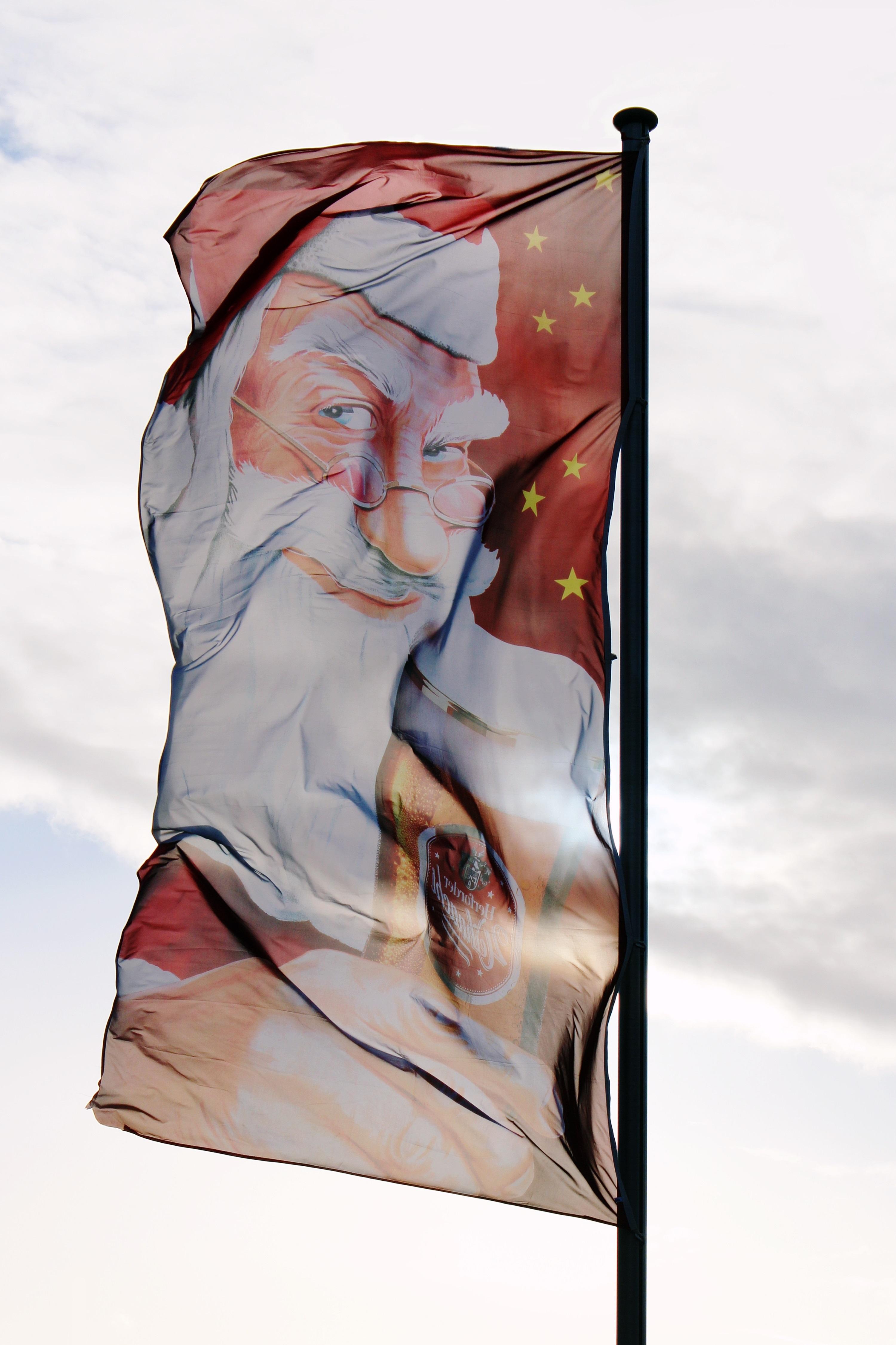 Gambar Angin Iklan Tiang Kapal Hari Natal Tiang Bendera Waktu