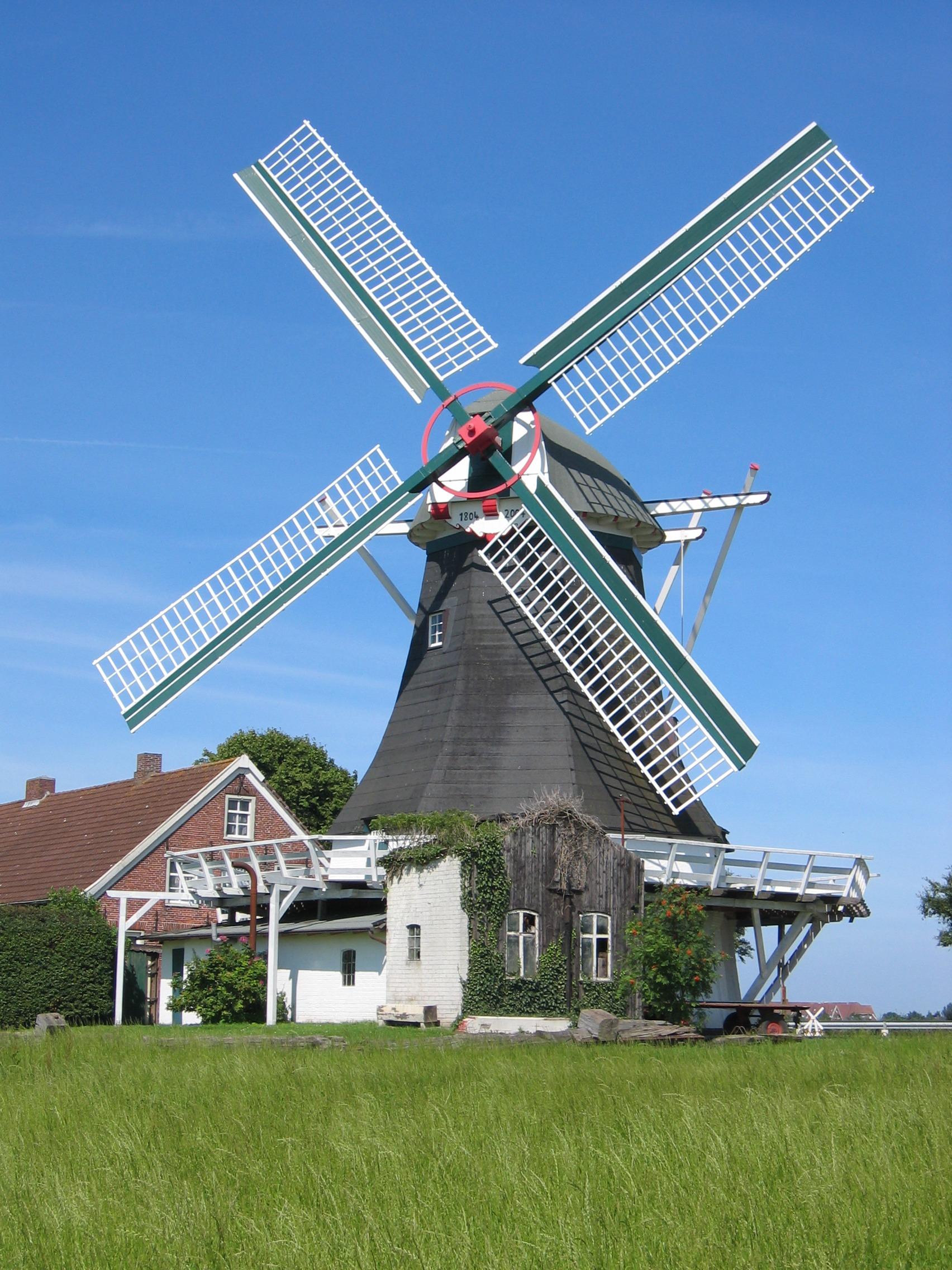 ветряные мельницы картинки фото