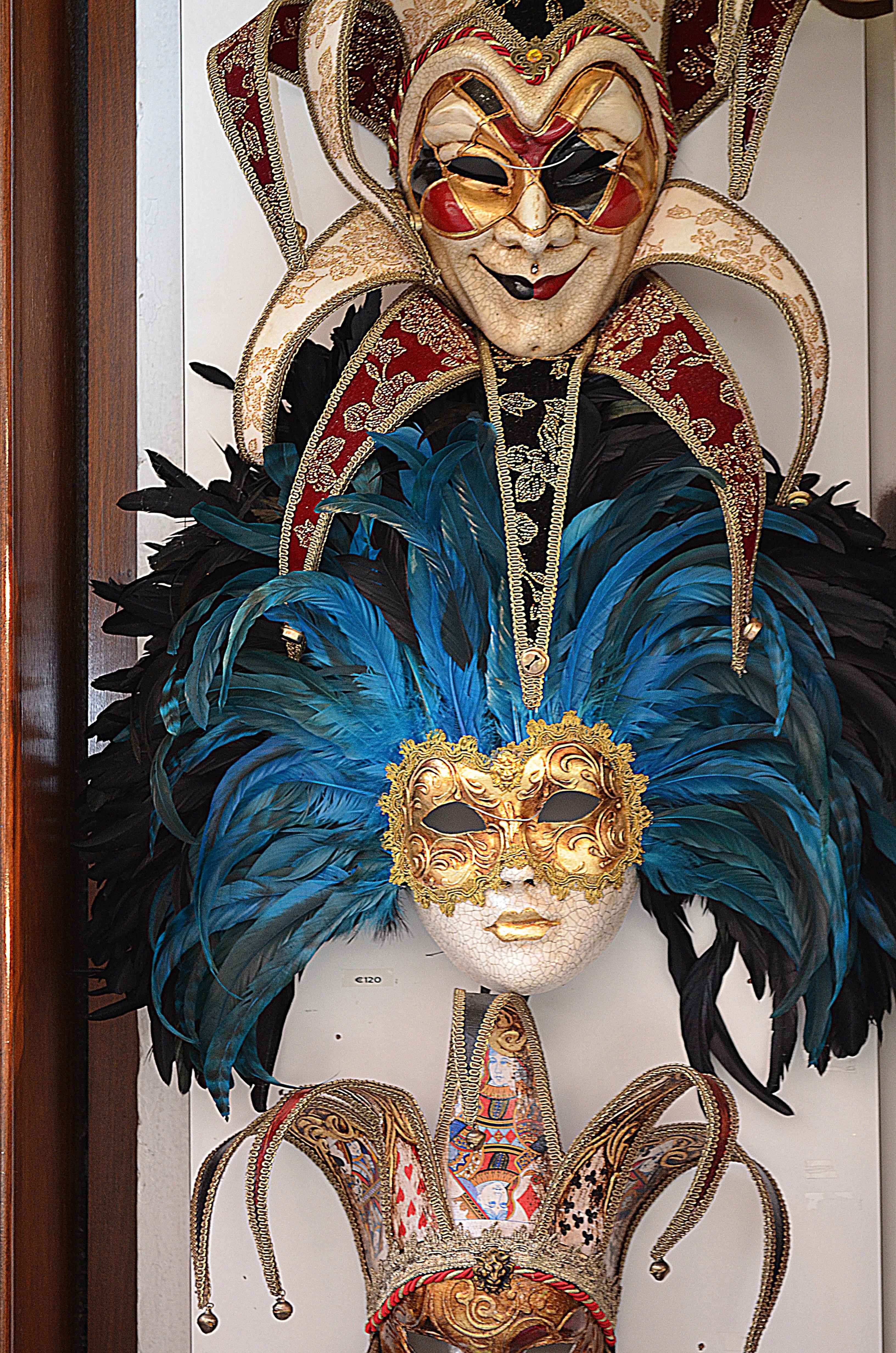 Fotos gratis : ventana, carnaval, Italia, Venecia, ropa, turismo, Casco, festival, máscara ...