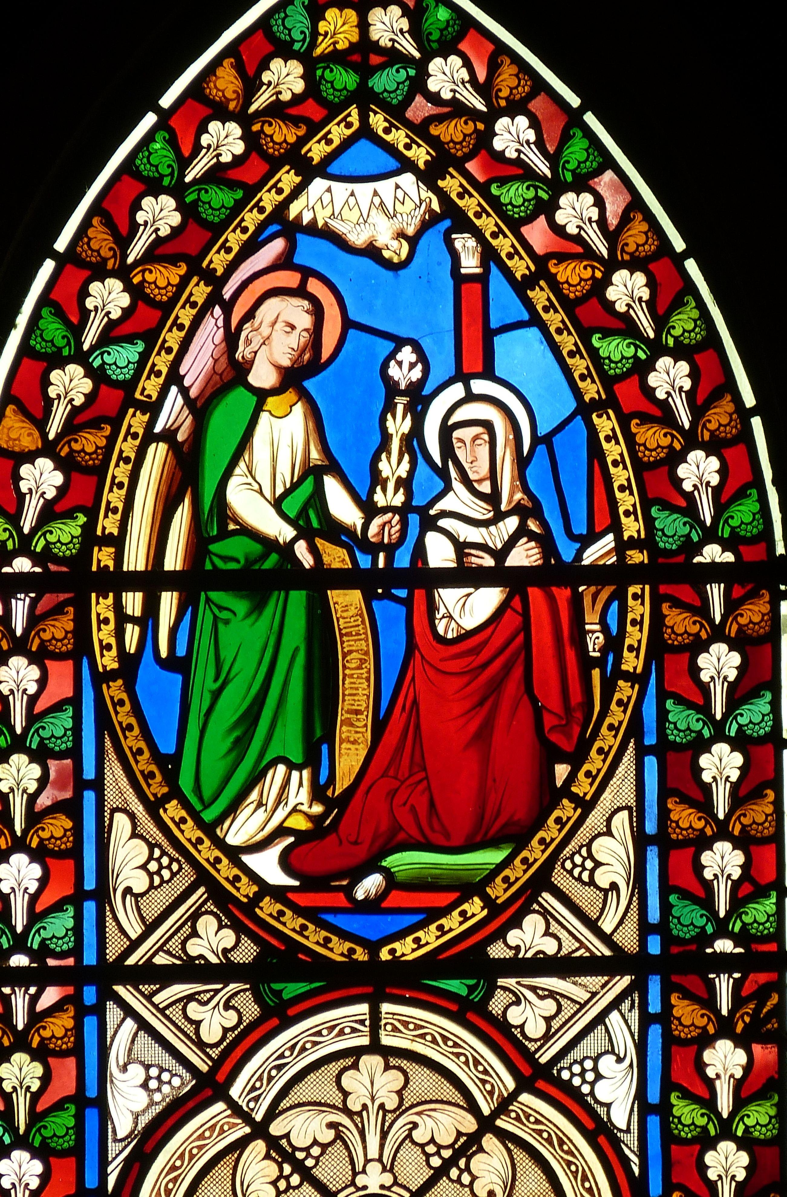 Fotos gratis : ventana, vaso, Iglesia, material, Vitral
