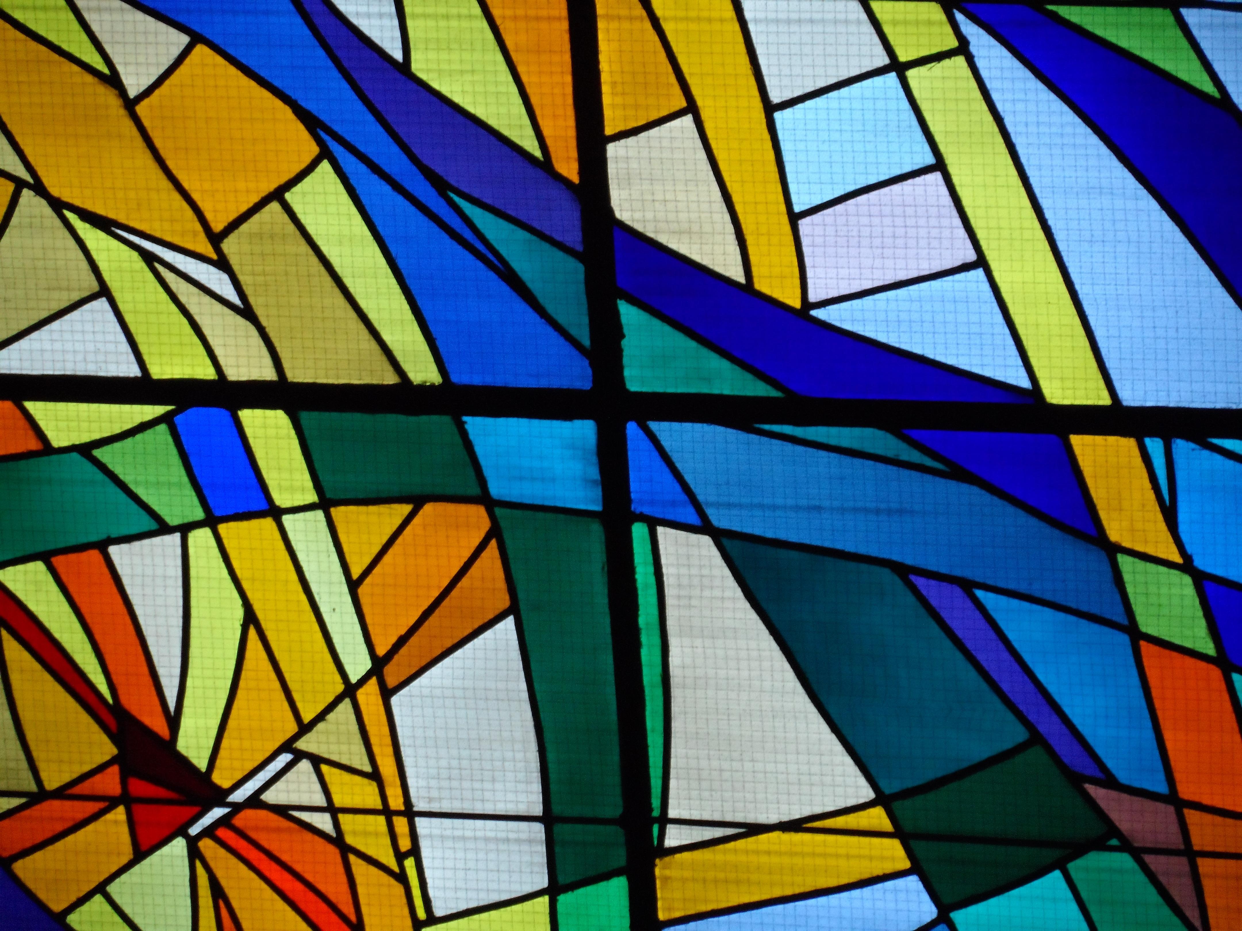 Картинки с абстракцией на стекле