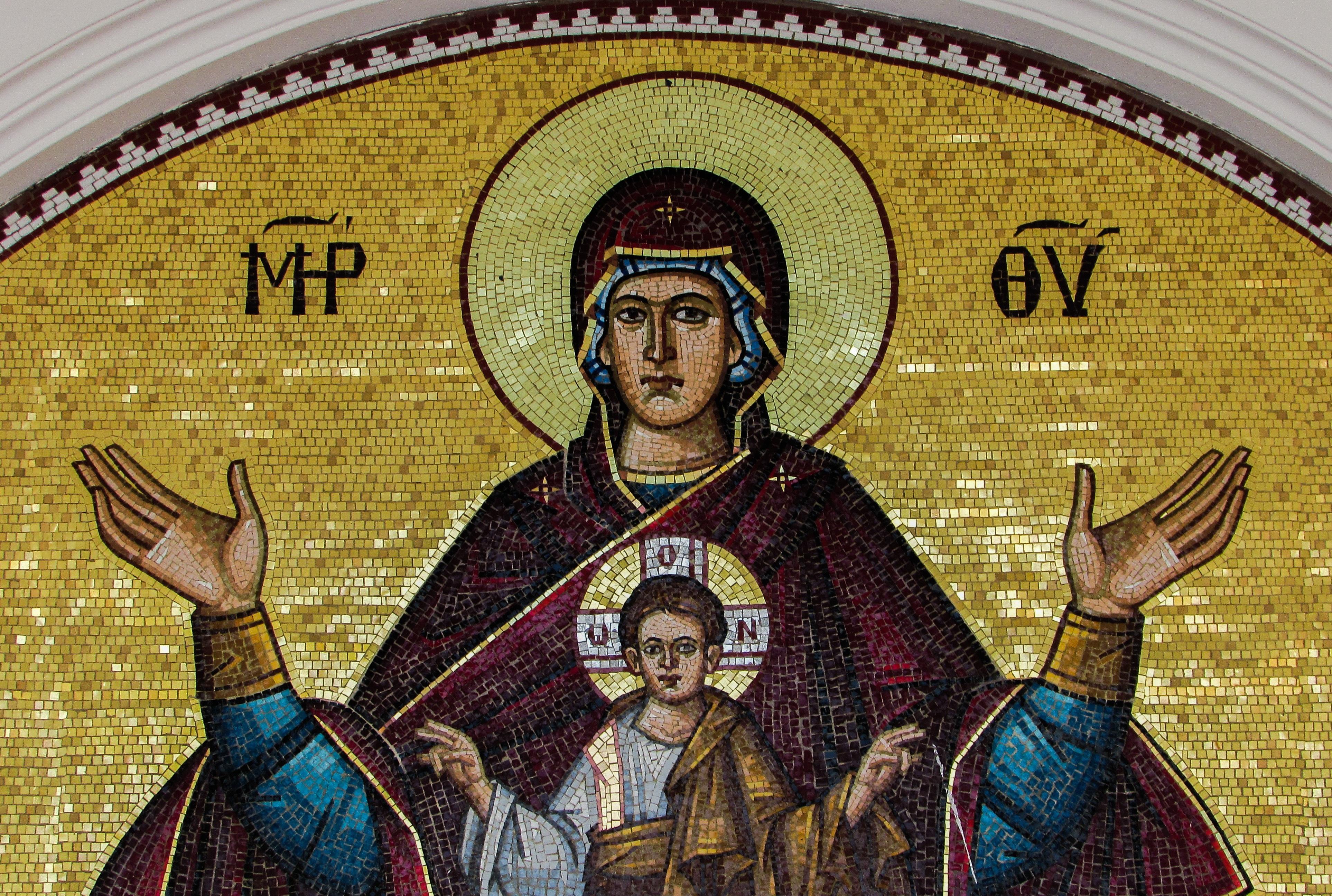 Free Images : window, glass, religion, church, art, mosaic ...